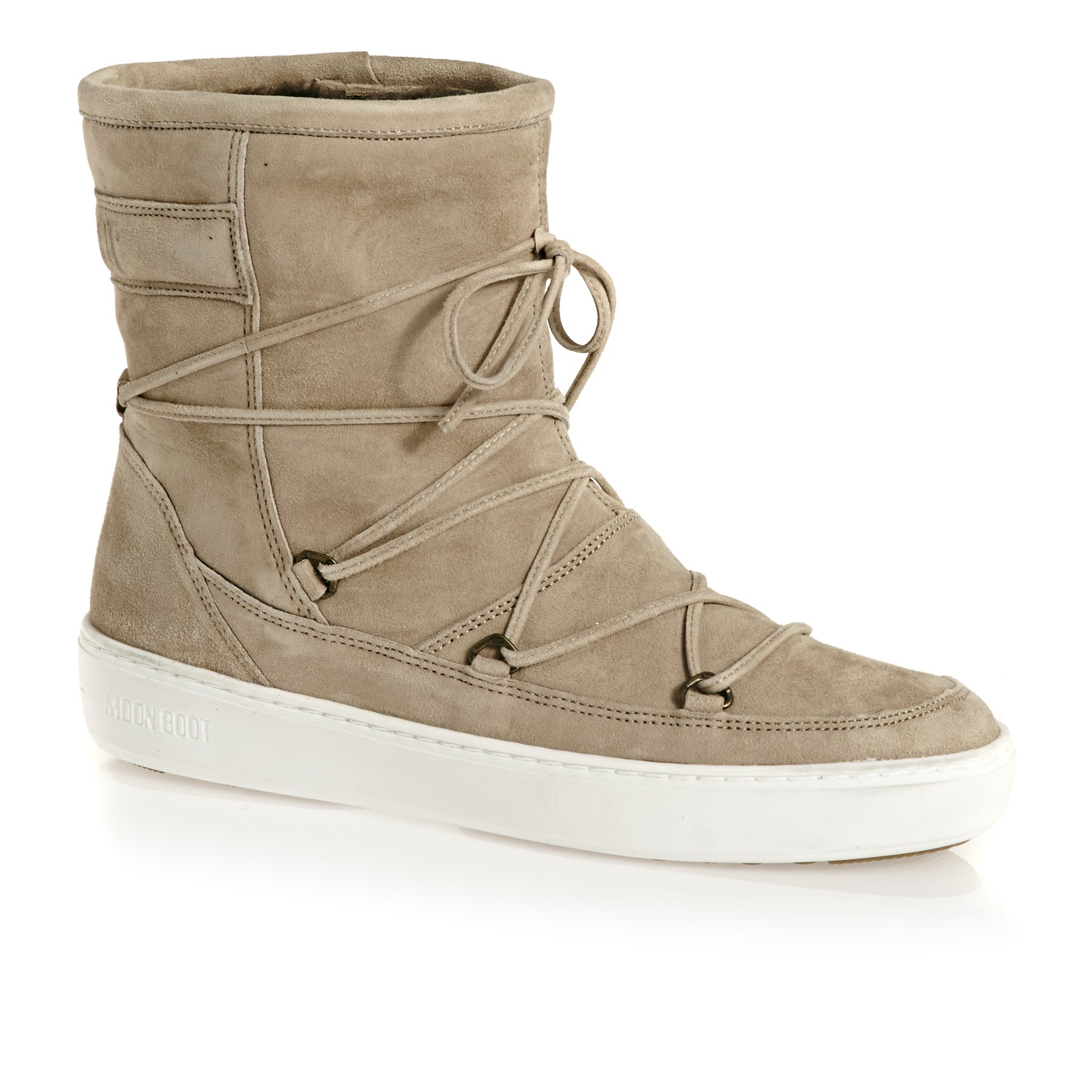Moon Boot Pulse Mid Womens Boots - Beige