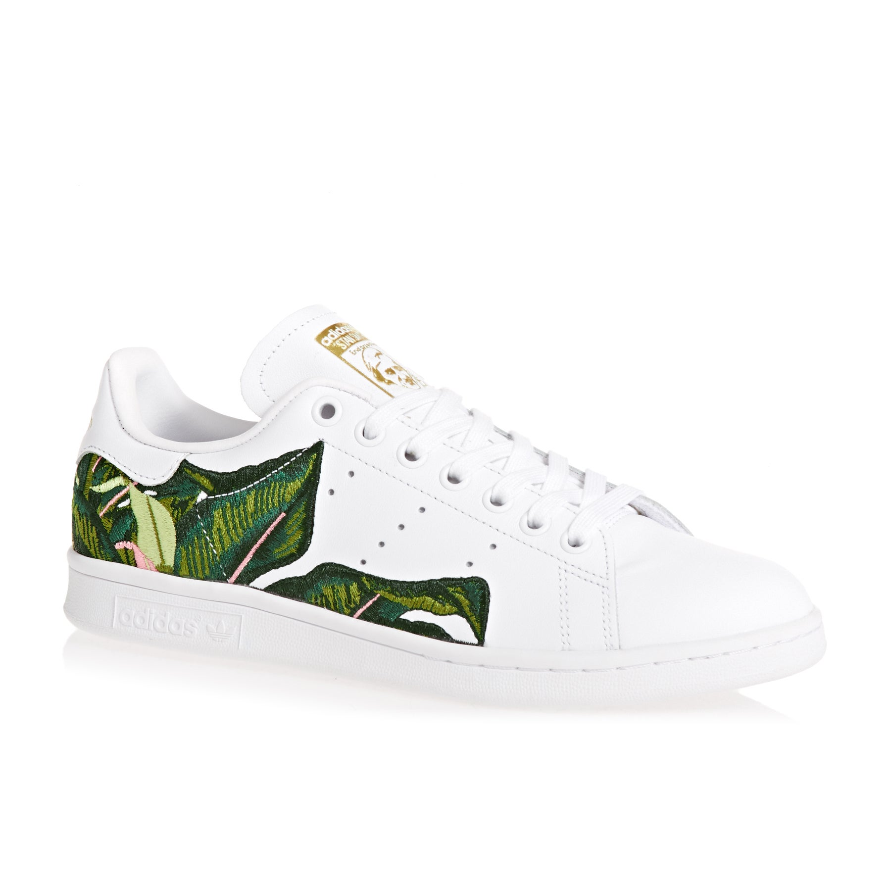 Adidas Originals Stan Smith Womens Shoes - Ftwwht/ftwwht/goldmt