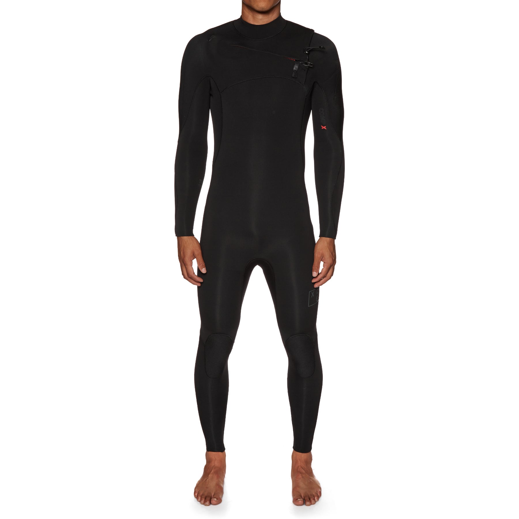 Xcel Comp X 5/4mm 2019 Chest Zip Wetsuit - Black