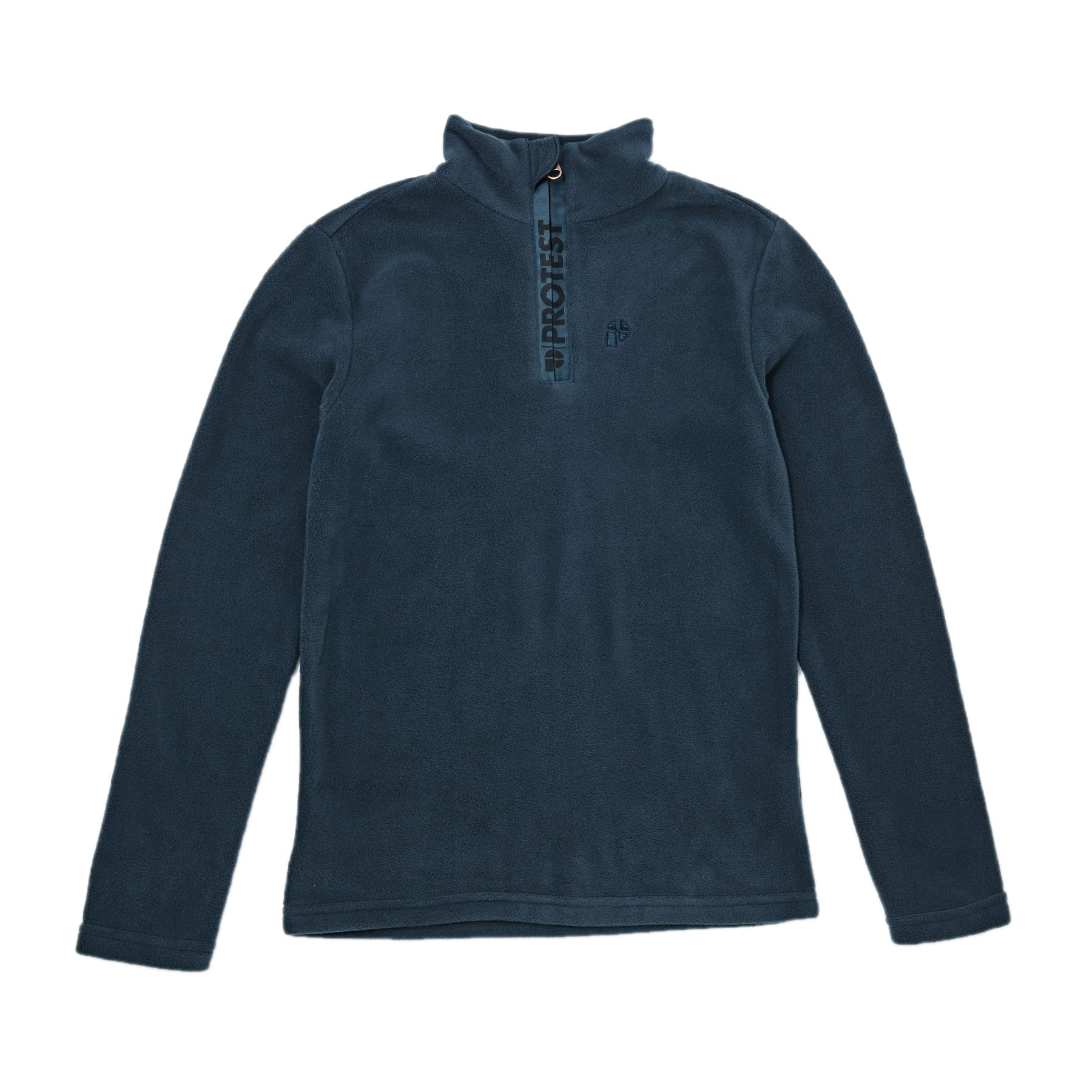 Protest Perfecty JR 1/4 Zip Top Kids Fleece - Navy Blue