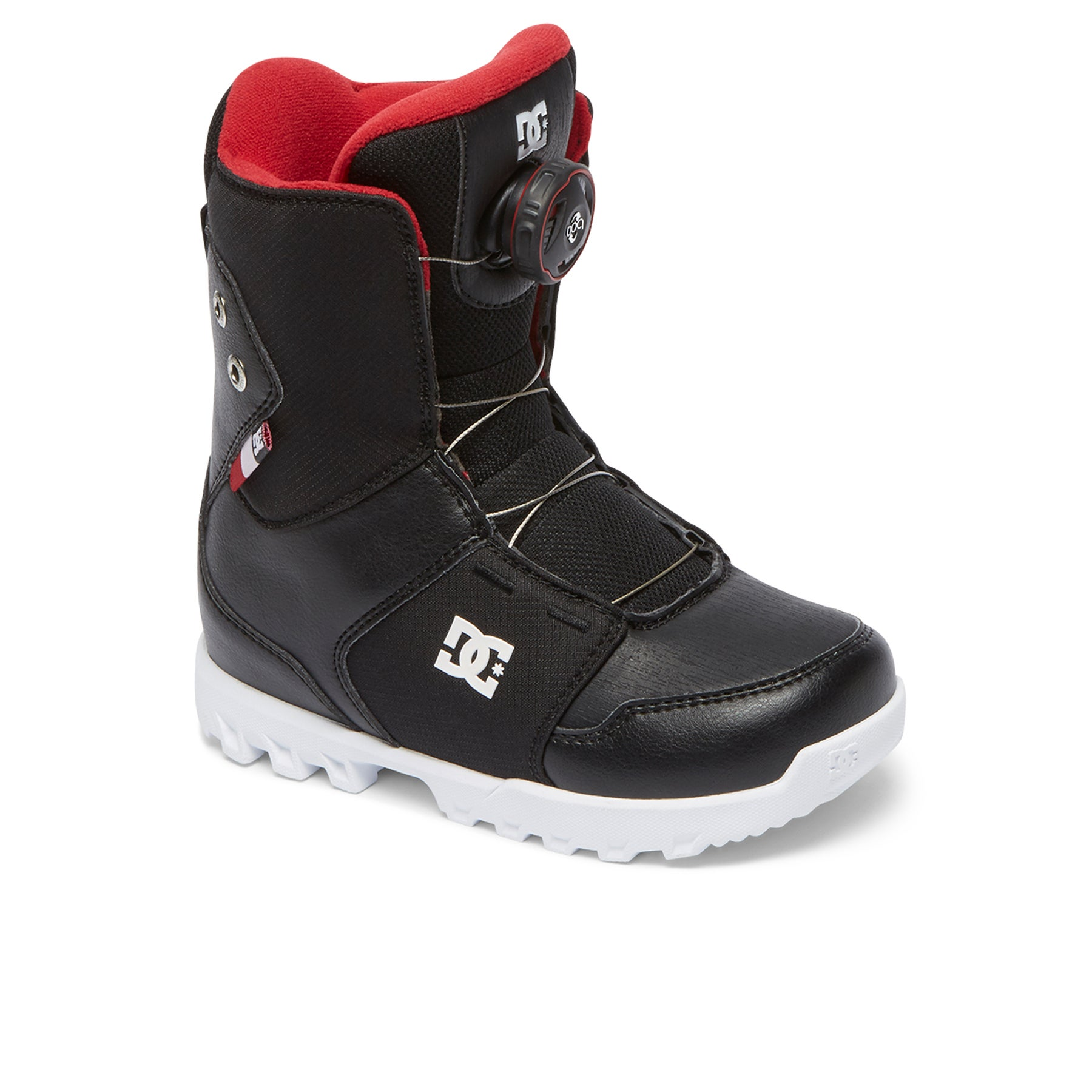 Boots de snowboard DC Youth Scout BOAX - Black