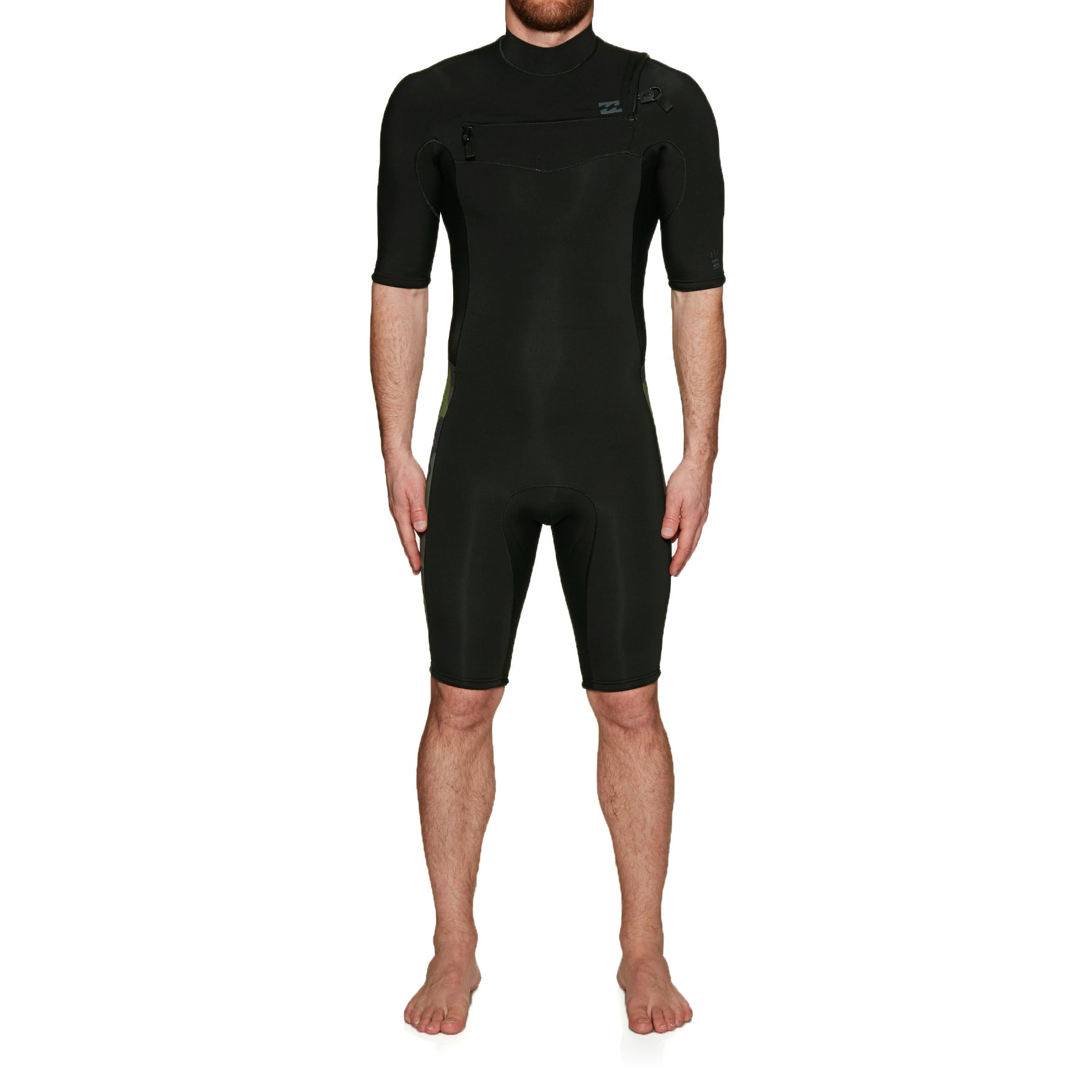 Traje de neopreno Billabong Revolution 2mm 2019 Chest Zip Shorty