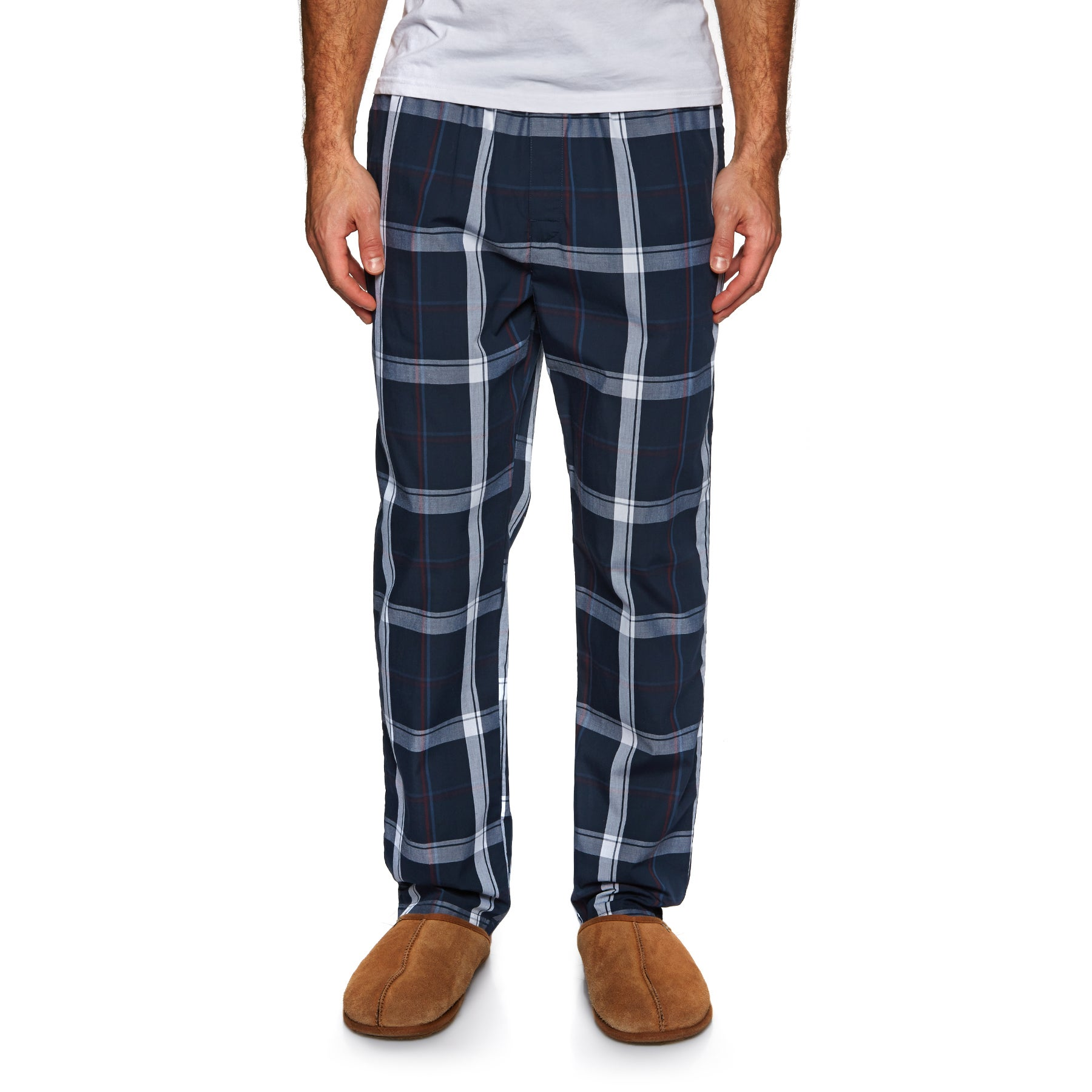 Calvin Klein Sleep Pant Pyjamas - Campus Plaid Navy