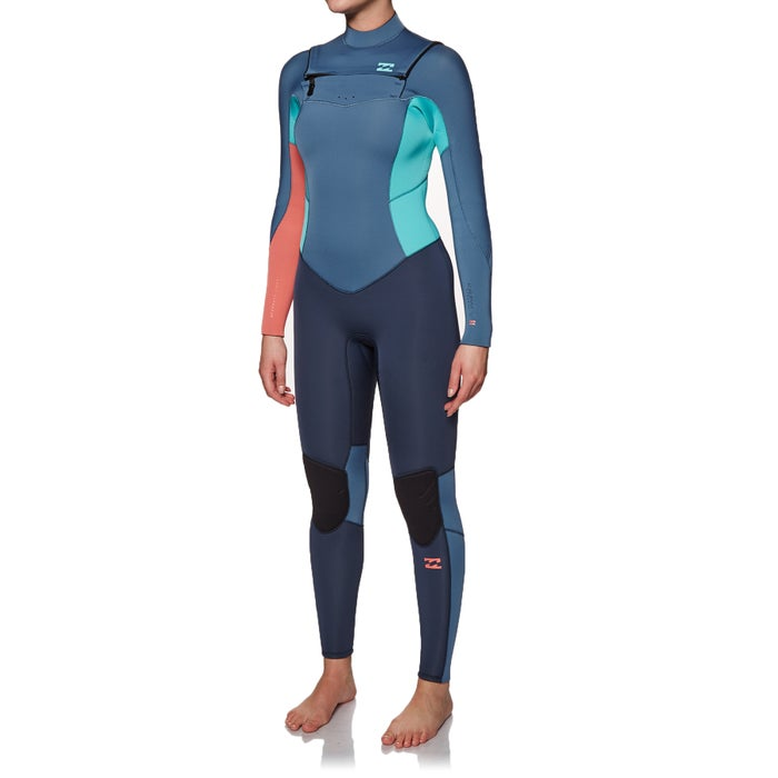 Billabong Womens Furnace Synergy 5/4mm 2019 Chest Zip Womens Wetsuit