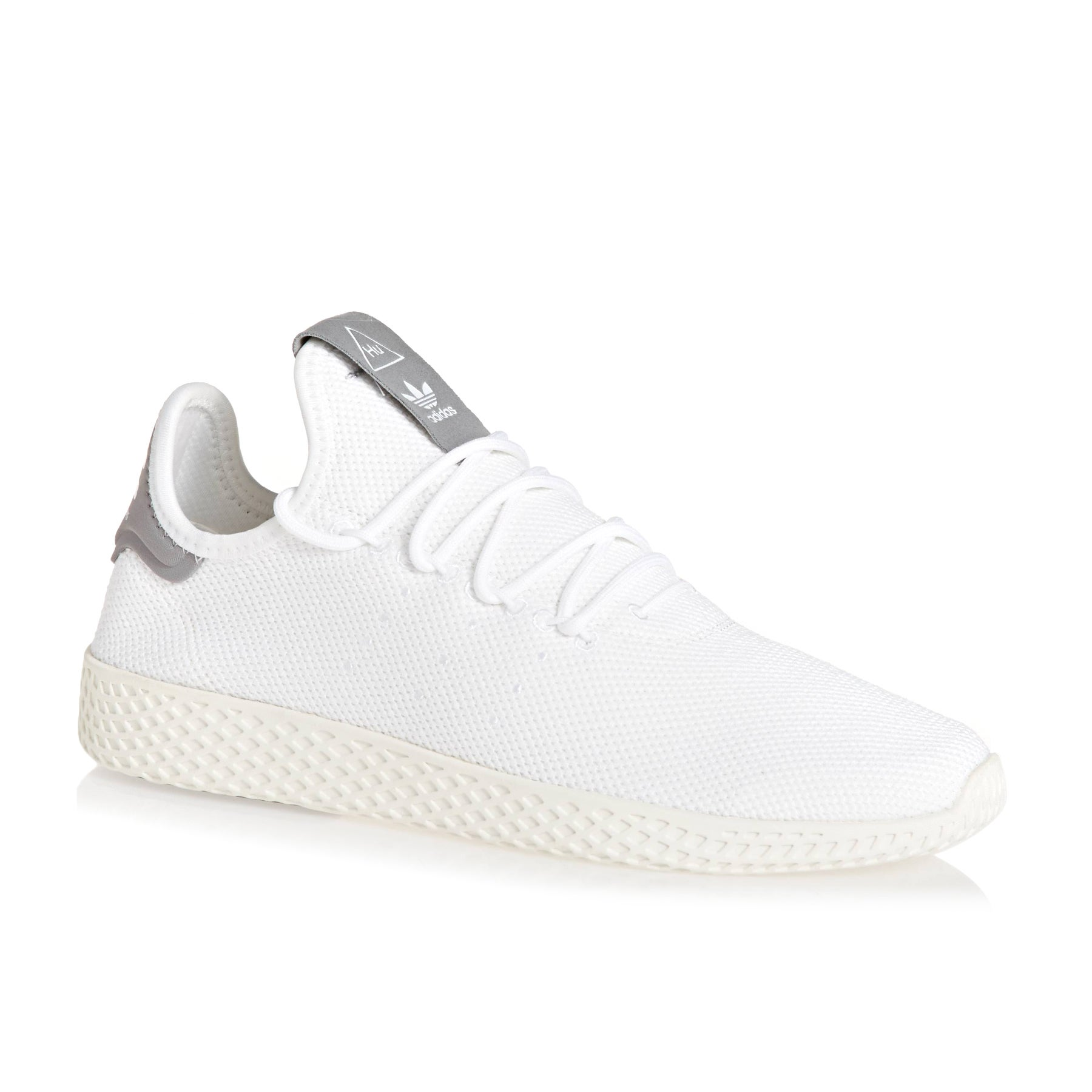 Adidas Originals Pharrell Williams Tennis HU Shoes - White