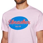 Thrasher Oval Short Sleeve T-Shirt