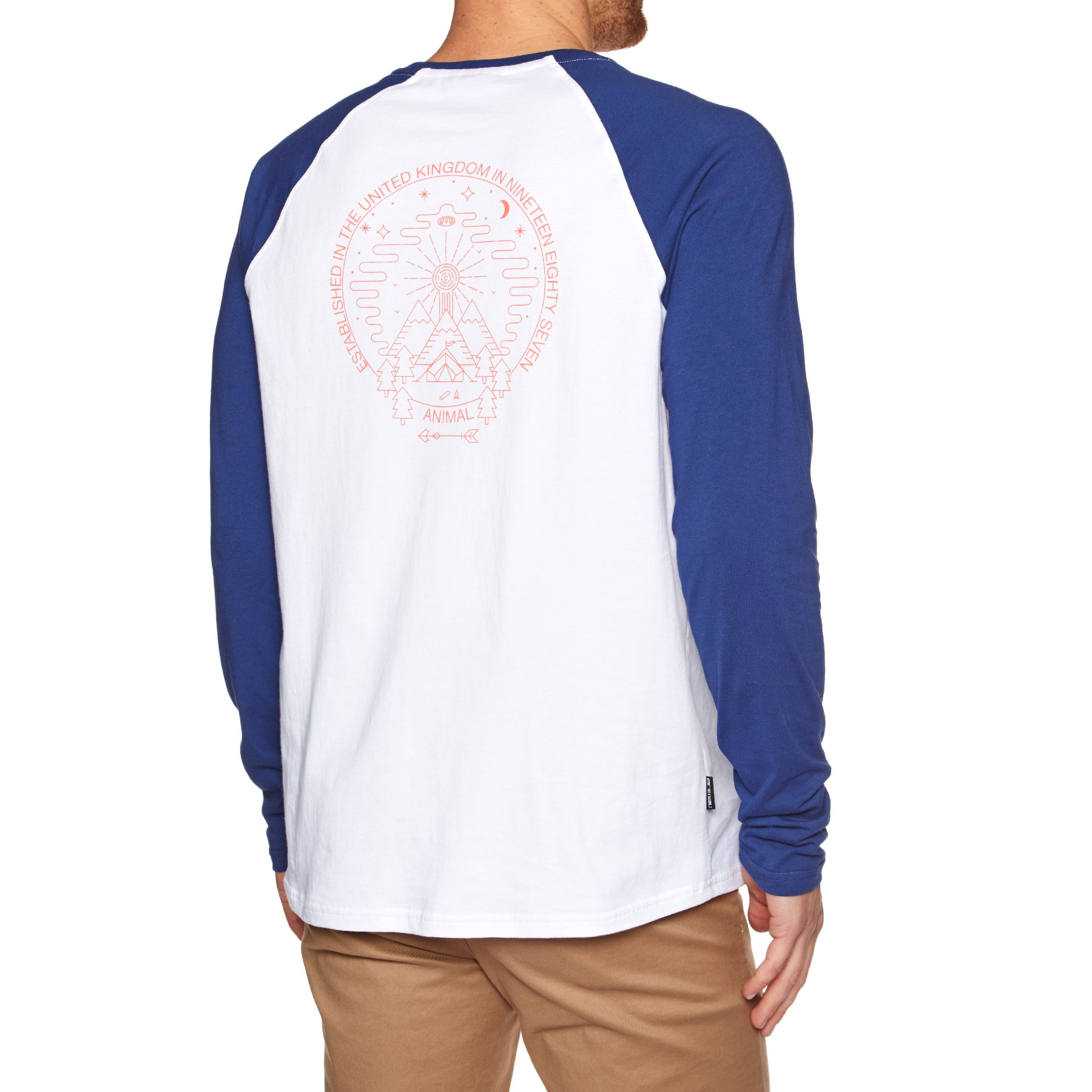 Animal Ocana Long Sleeve T-Shirt - Deepest Blue