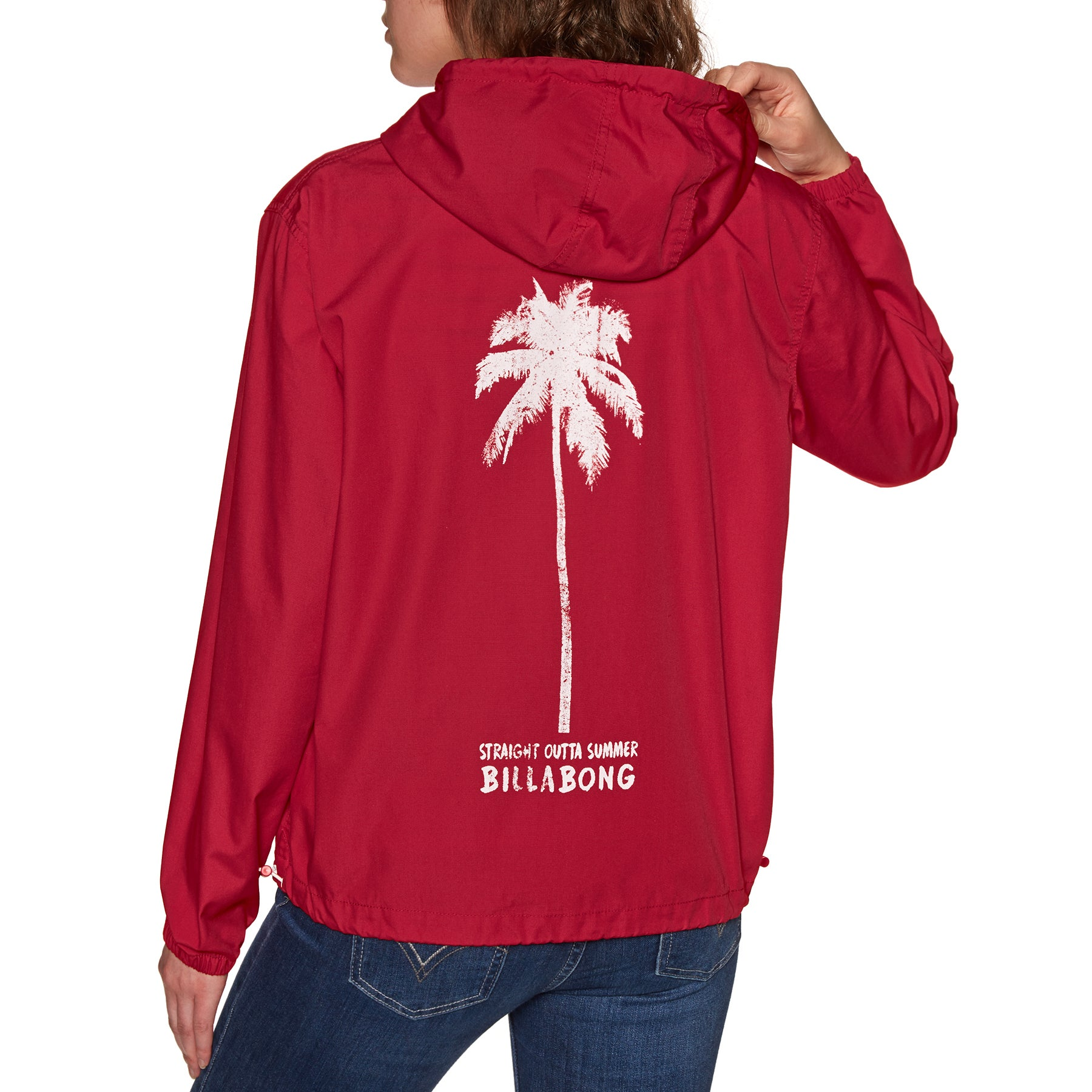 Billabong Season Womens Windproof Jacket - Havana Red