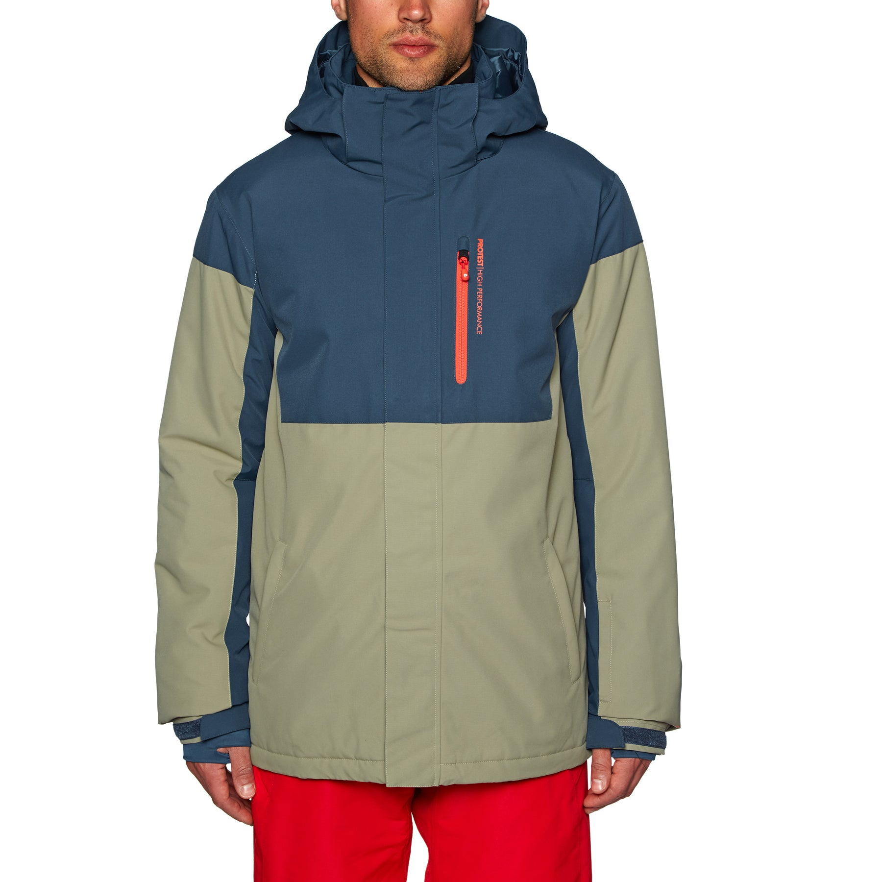 Giacca Snowboard Protest Rascal - Moss