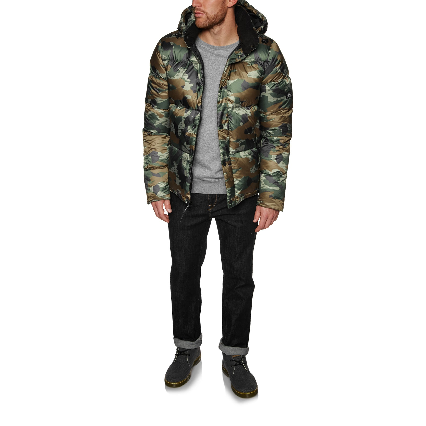 a07f7ab21b850 Penfield Equinox Camo Down Jacket available from Surfdome