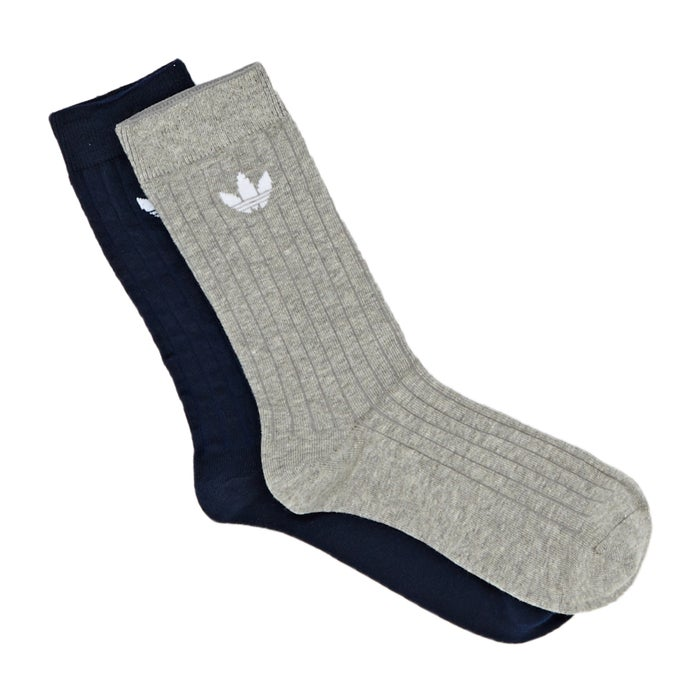 7086fdbe Adidas Originals Mid Rib Crew 2pack Socks available from Surfdome