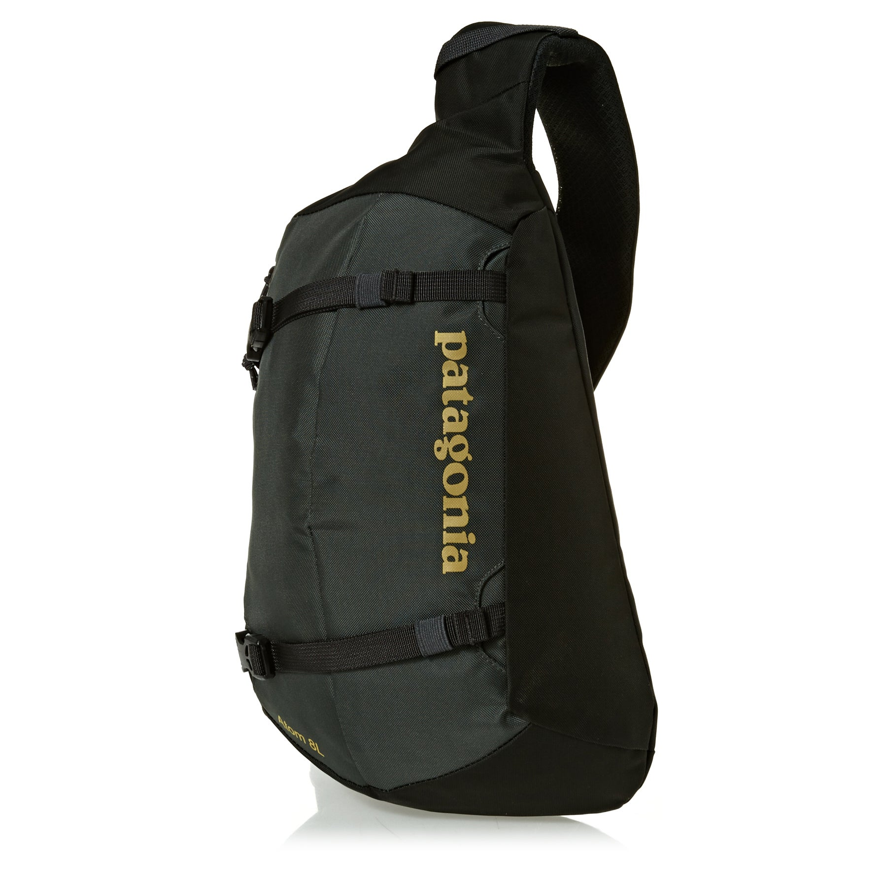 Patagonia Atom 8L Sling Backpack - Forge Grey W/textile Green
