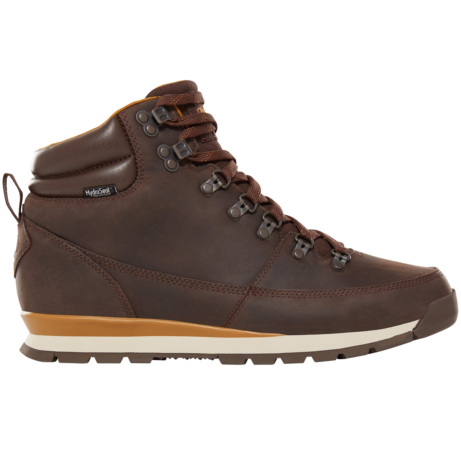 North Face Back To Berkeley Redux Leather Boots - Chocolate Brown Golden Brown