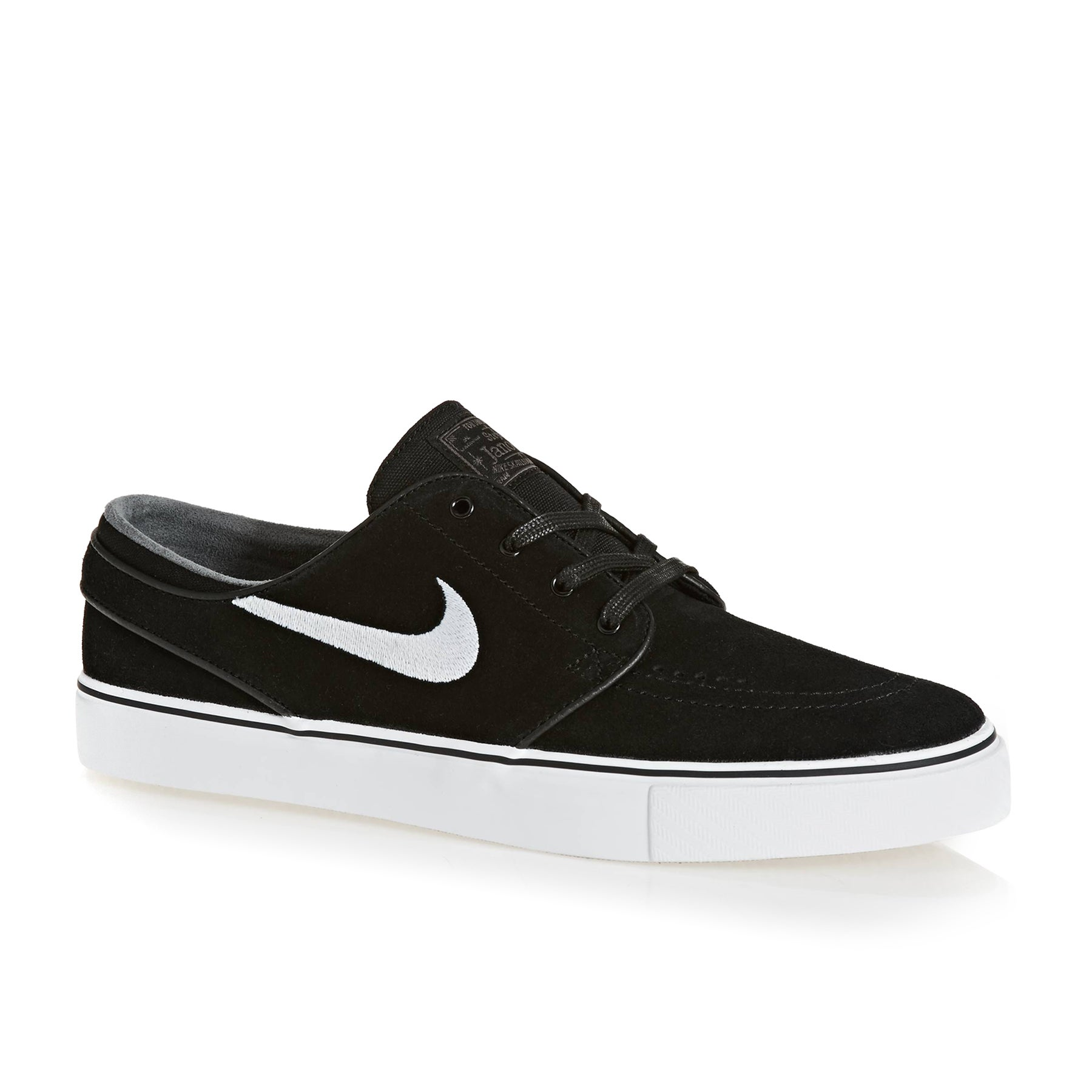 50fc2835dc95 Nike SB Zoom Stefan Janoski Shoes. Black White-Thunder Grey-Gum ...