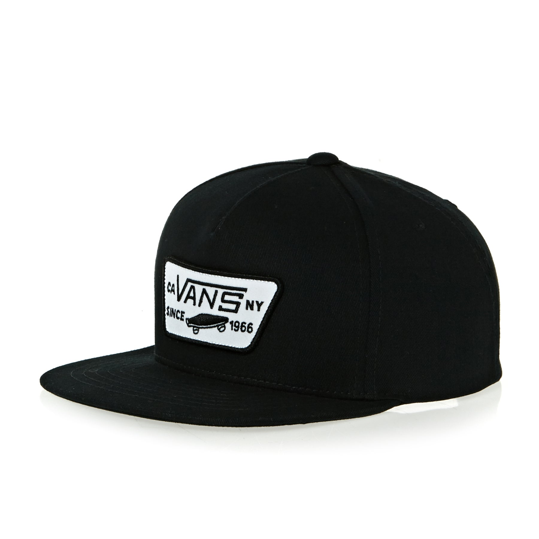 Gorro Boys Vans Full Patch Snapback - True Black