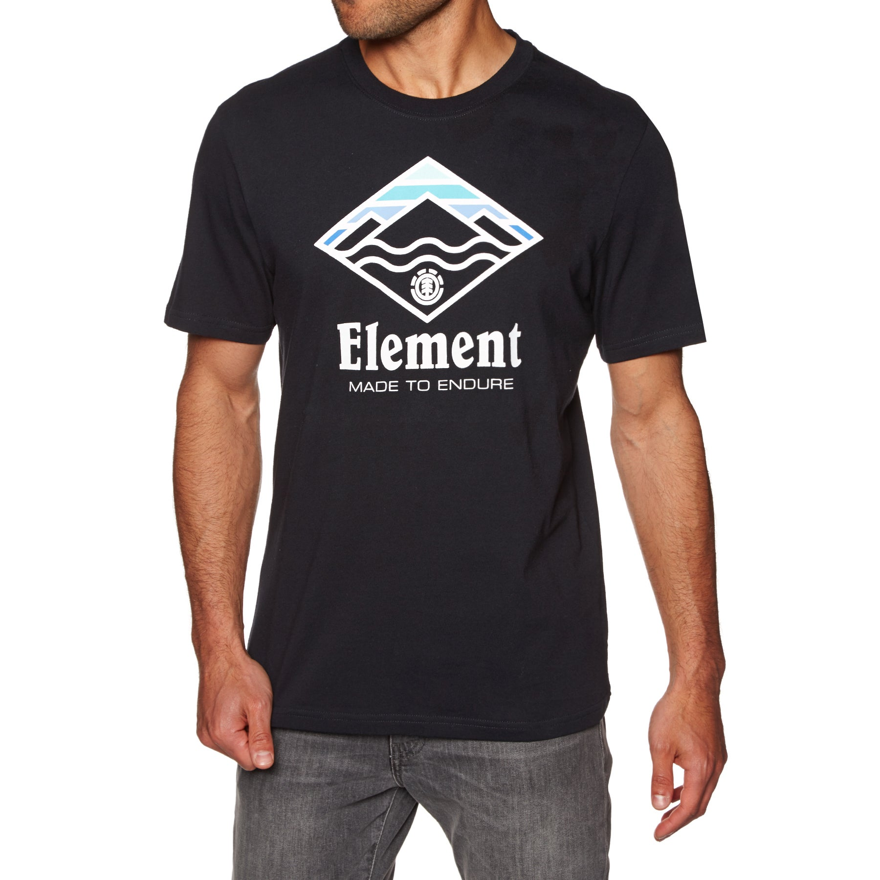 Camiseta de manga corta Element Layer - Flint Black