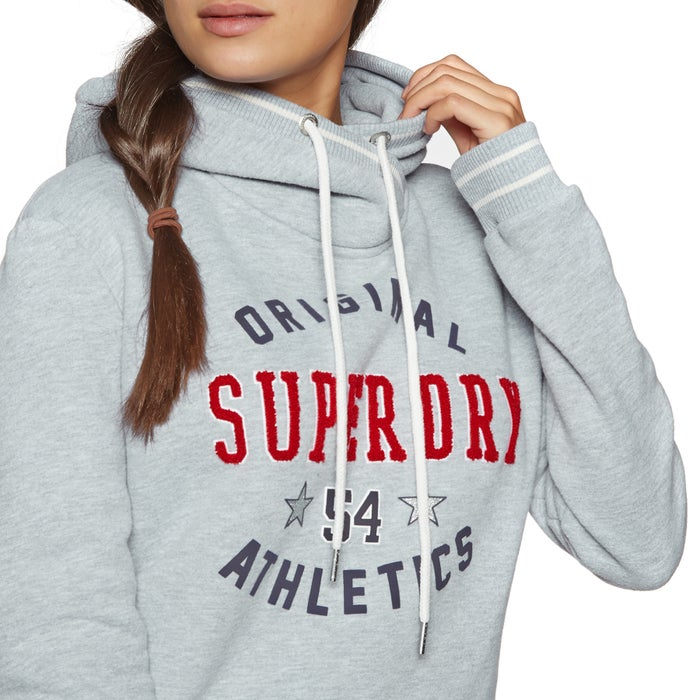Superdry Playoff Crop Womens Pullover Hoody