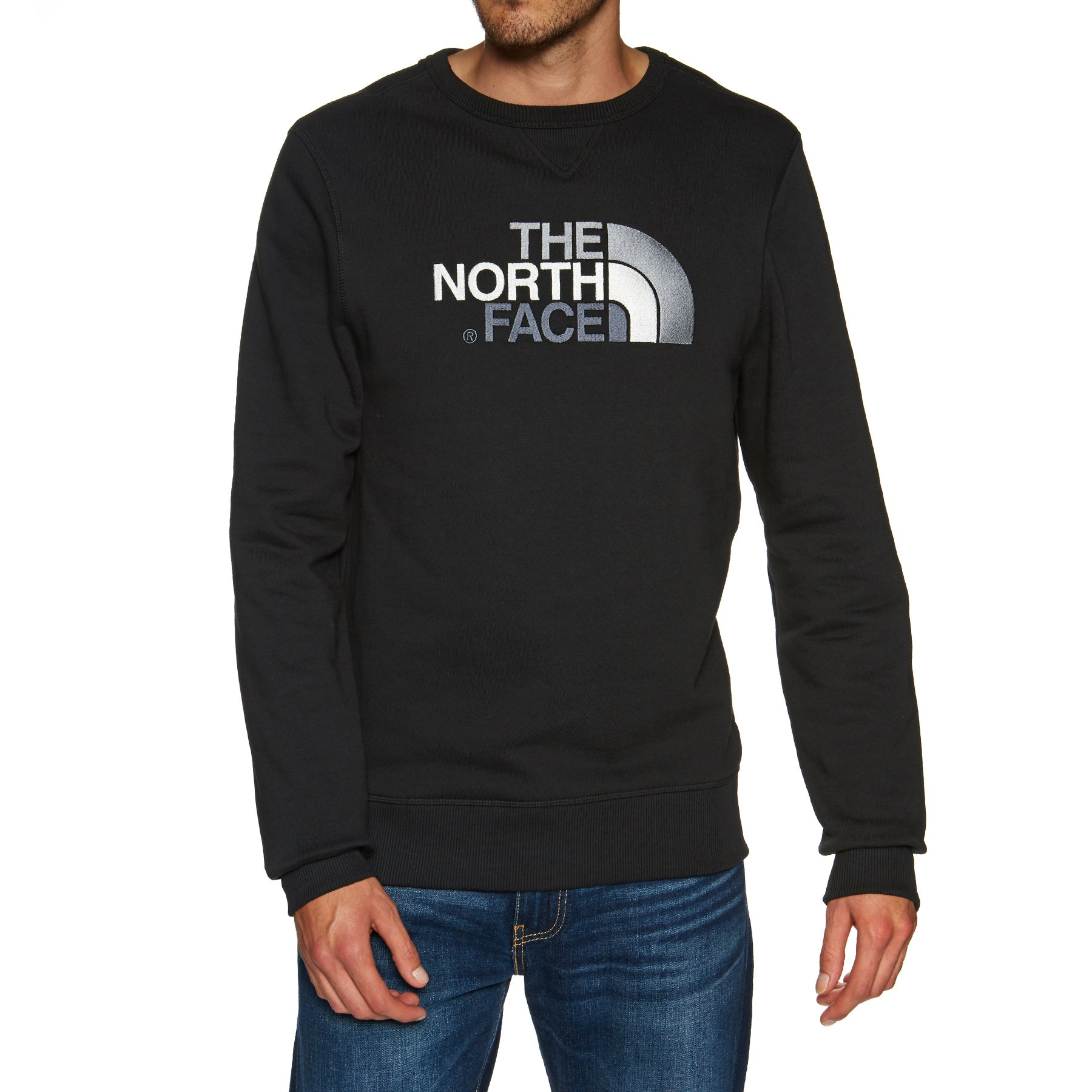 North Face Drew Peak Crew Sweater - TNF Black