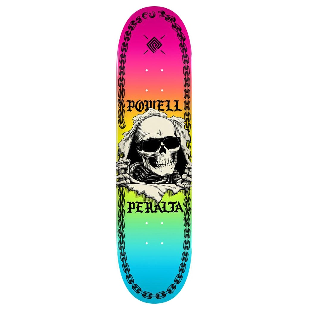 Powell Ripper Chainchz Colby 8.25 Inch Skateboard Deck - Multicolour
