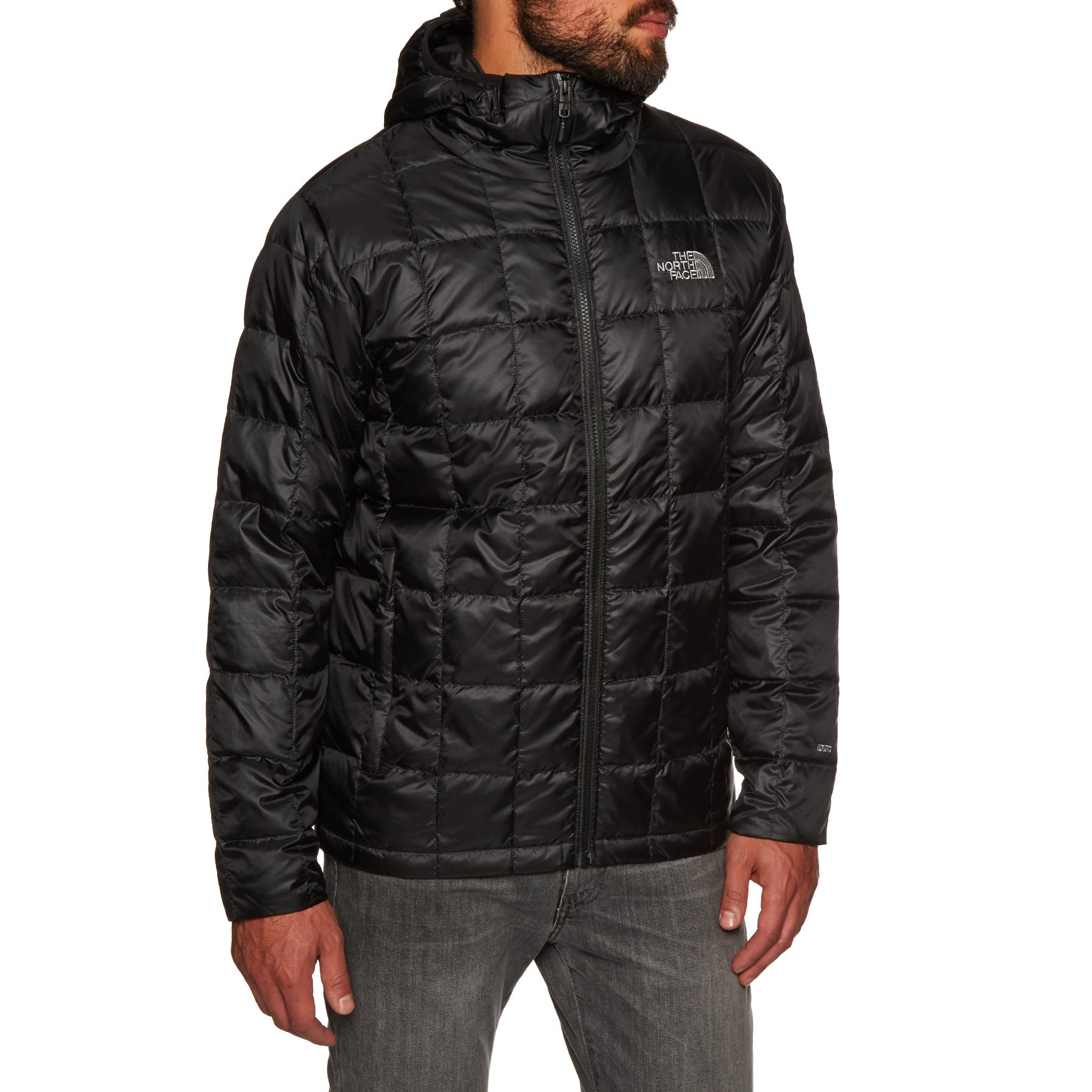 North Face Kabru Hooded Down Jacket - Tnf Black