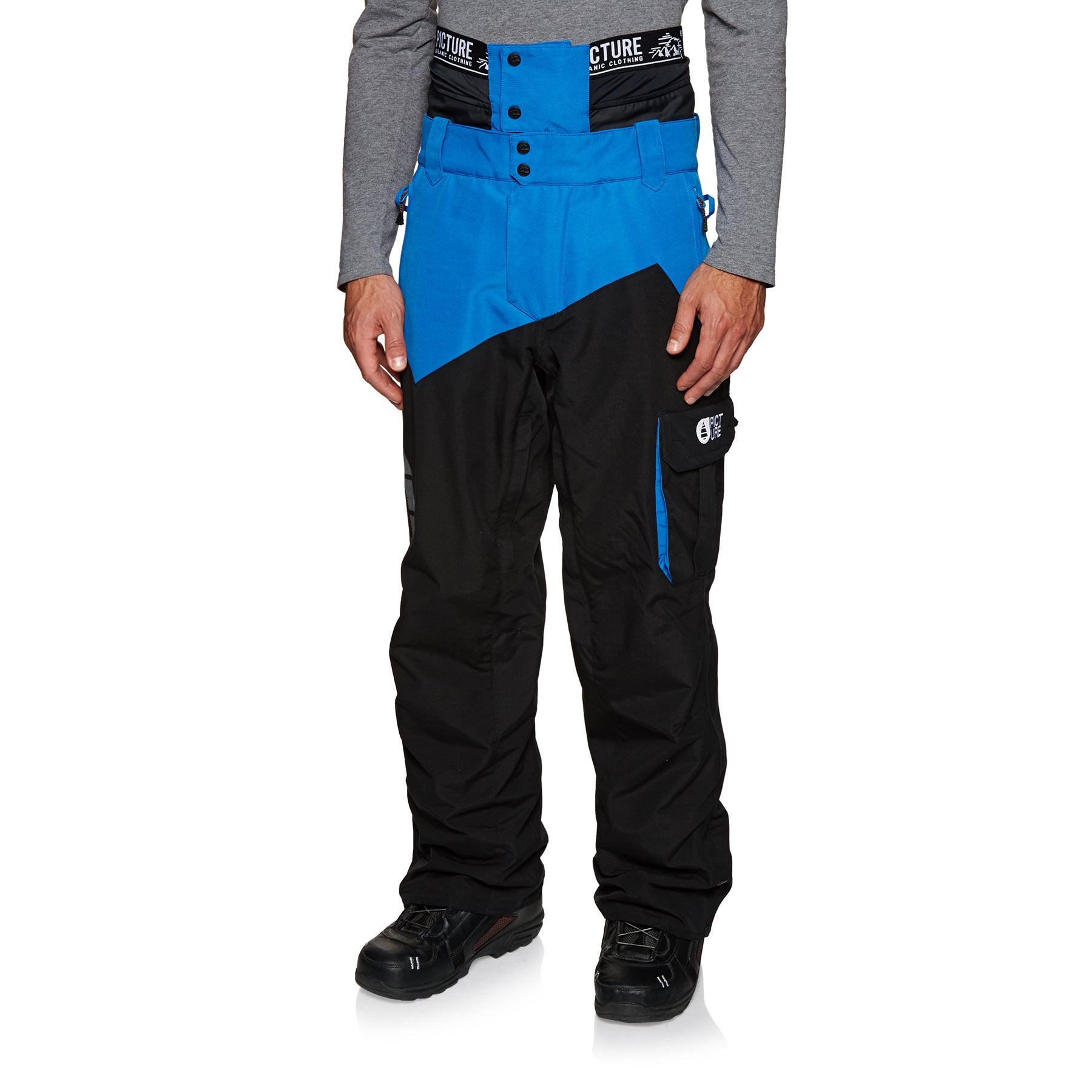 Picture Organic Styler Snow Pant - Black Blue