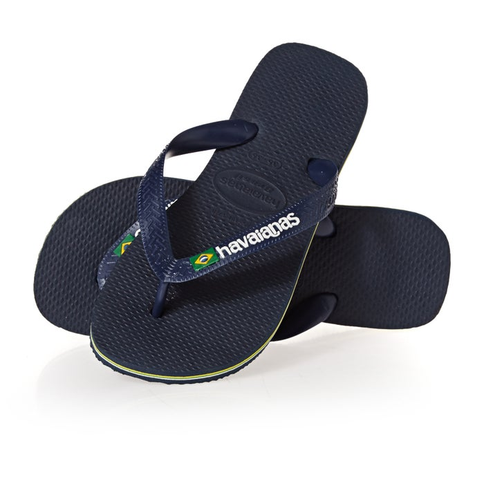 473bf3347 Havaianas Brasil Logo Sandals | Free Delivery* on All Orders