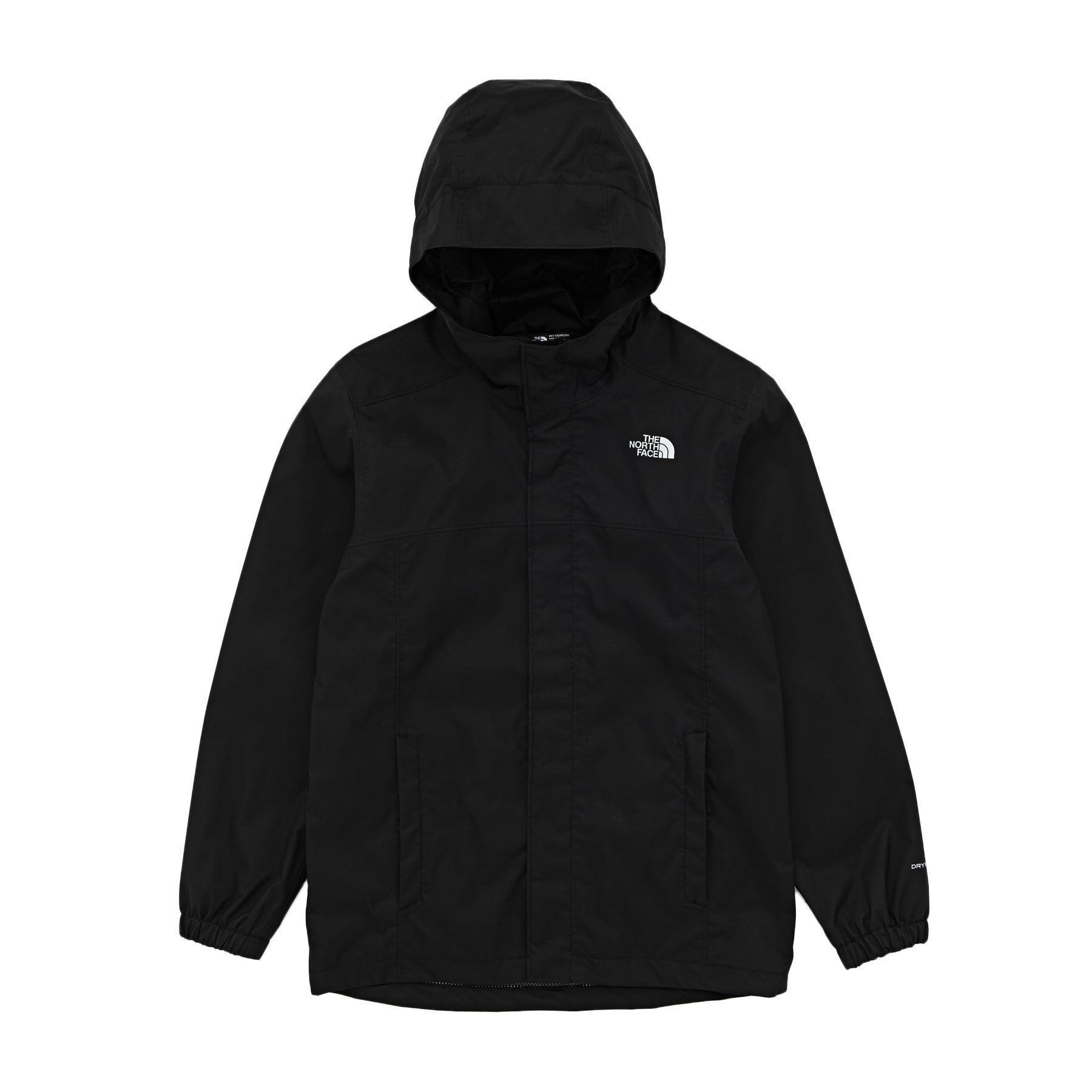 North Face Resolve Reflective Boys Jacket - Tnf Black