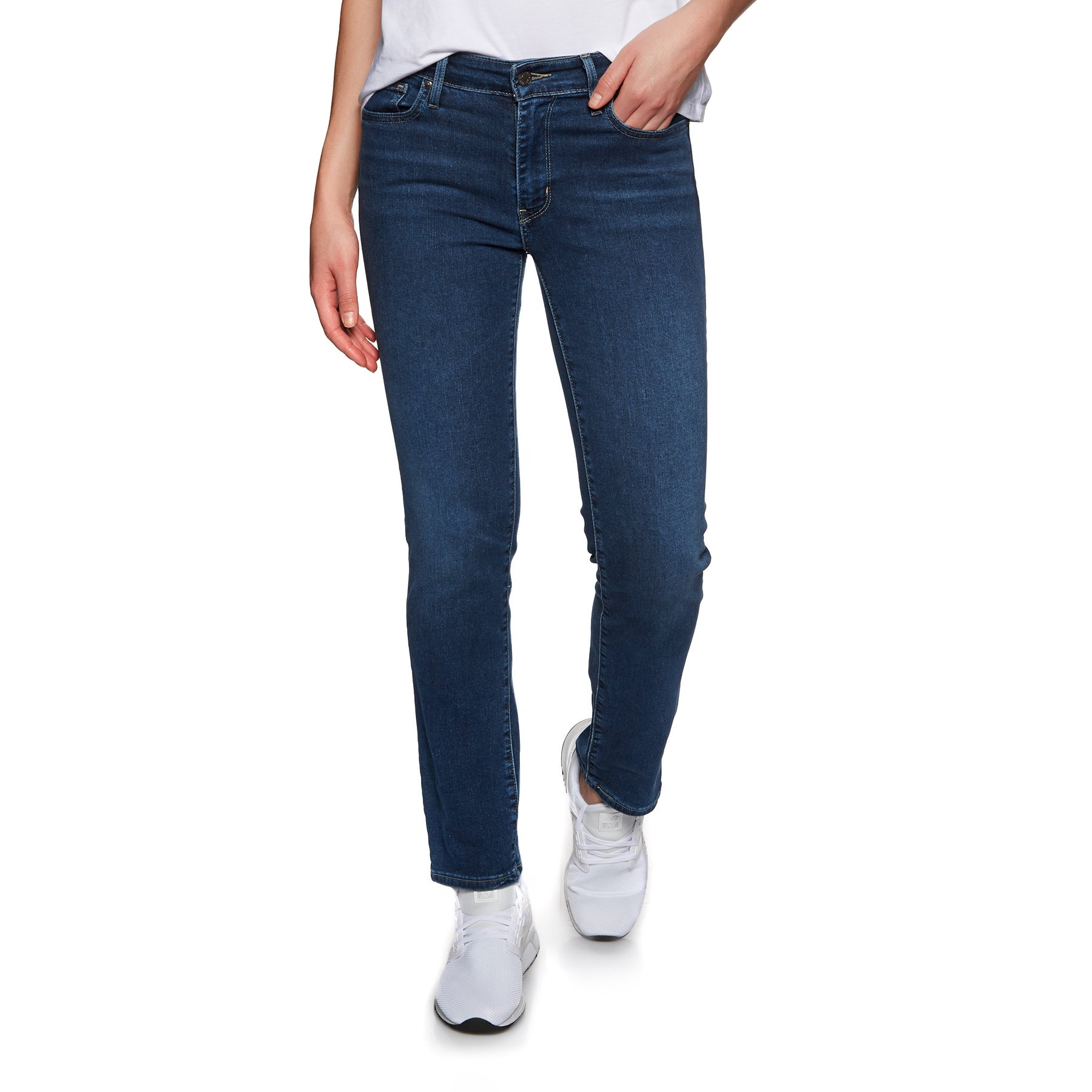 Levis 712 Slim Womens Jeans - Read Between The Lines