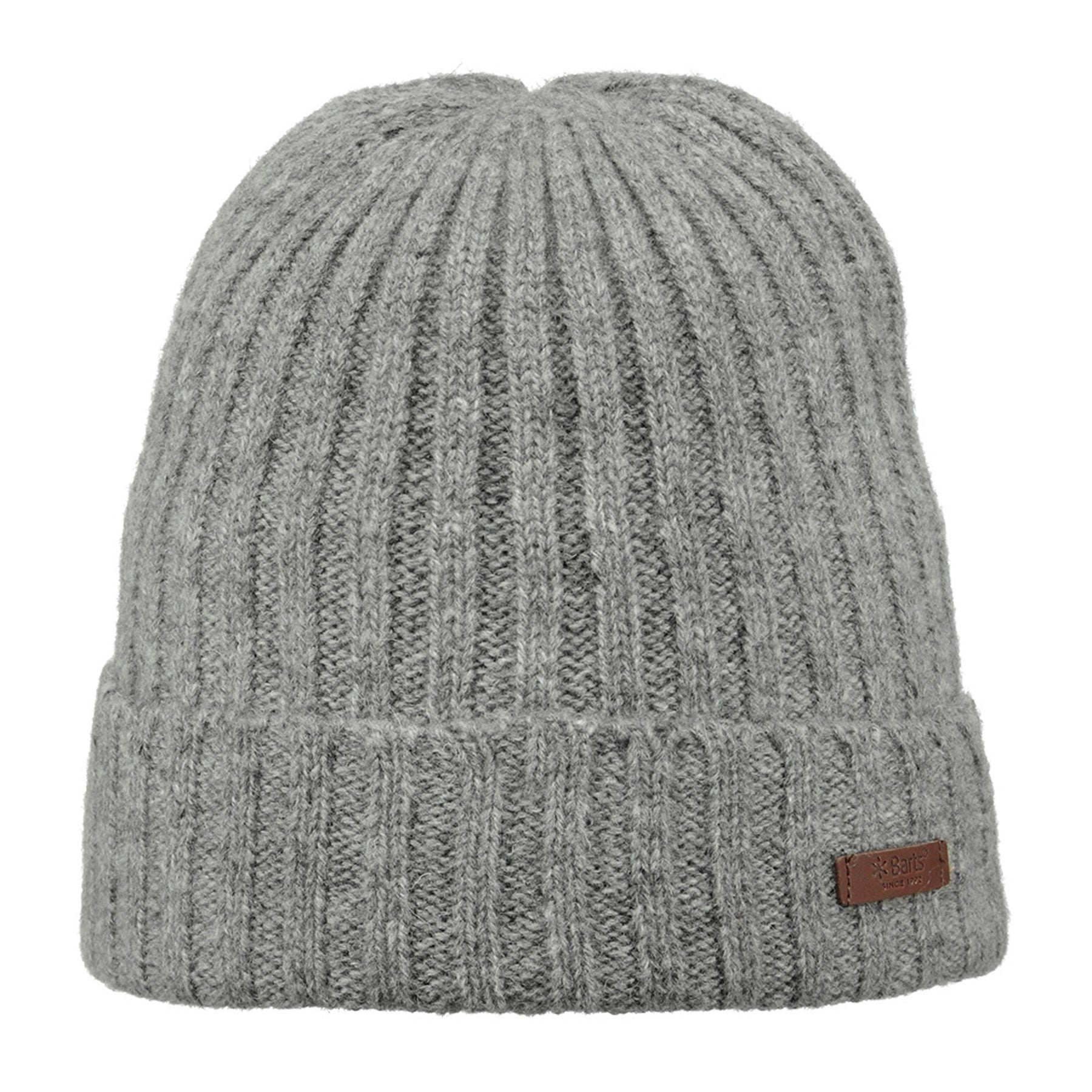 Bonnet Barts Haakon Turnup - Heather Grey