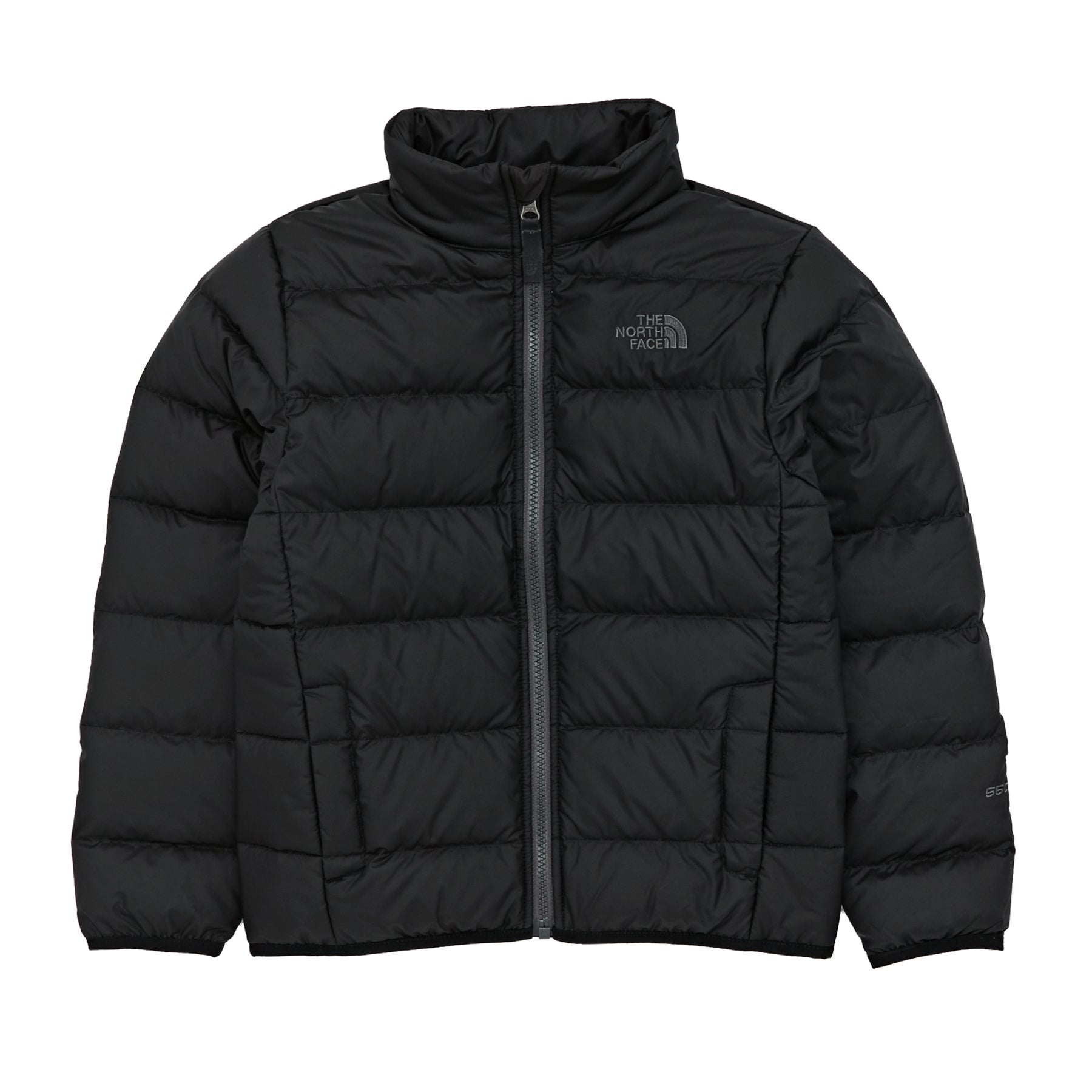 North Face Andes Boys Down Jacket - TNF Black Graphite Grey