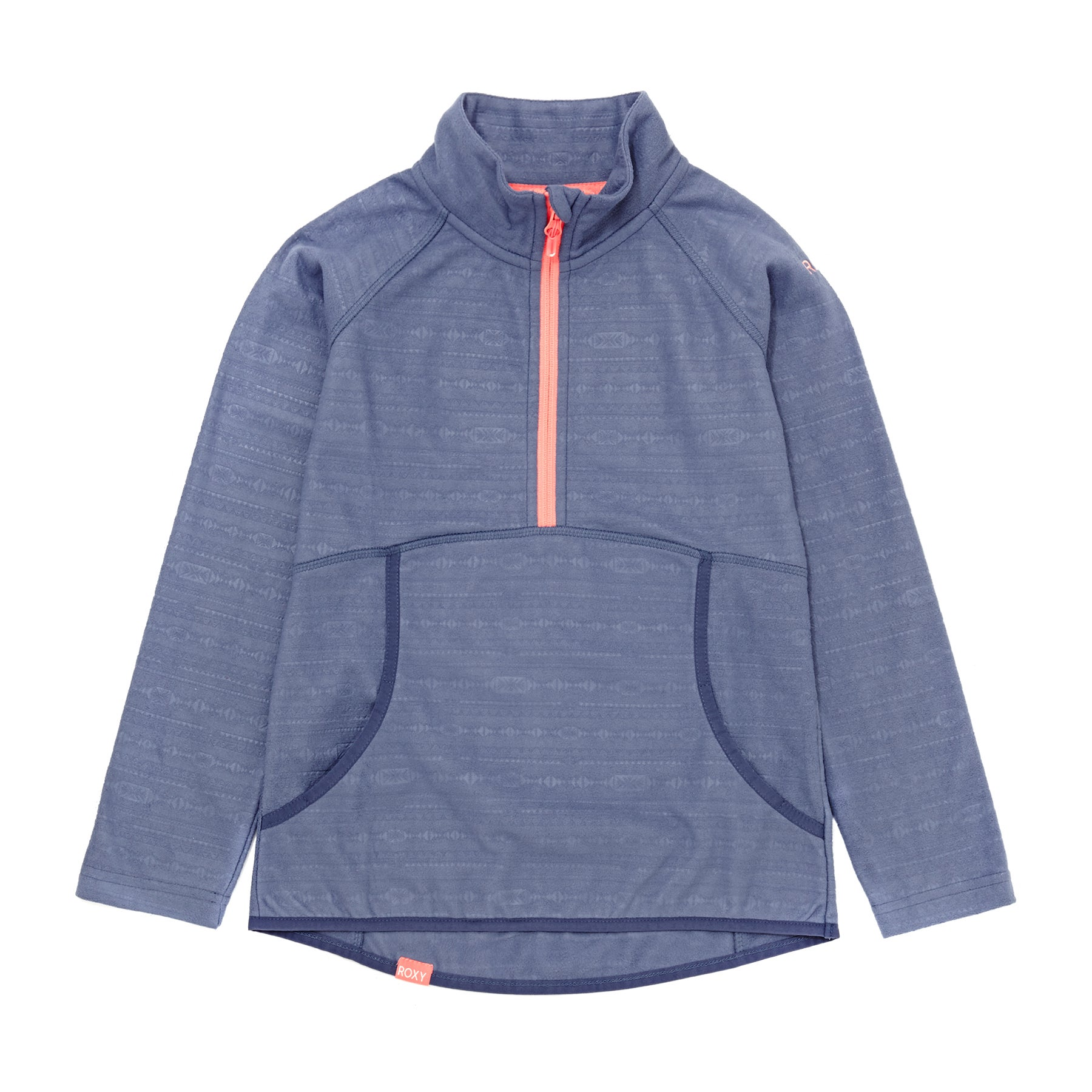 Roxy Cascade Girls Fleece - Crown Blue
