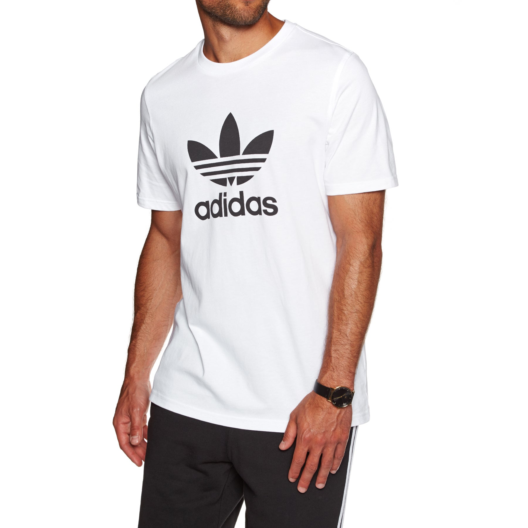 Adidas Originals Trefoil Short Sleeve T-Shirt - White