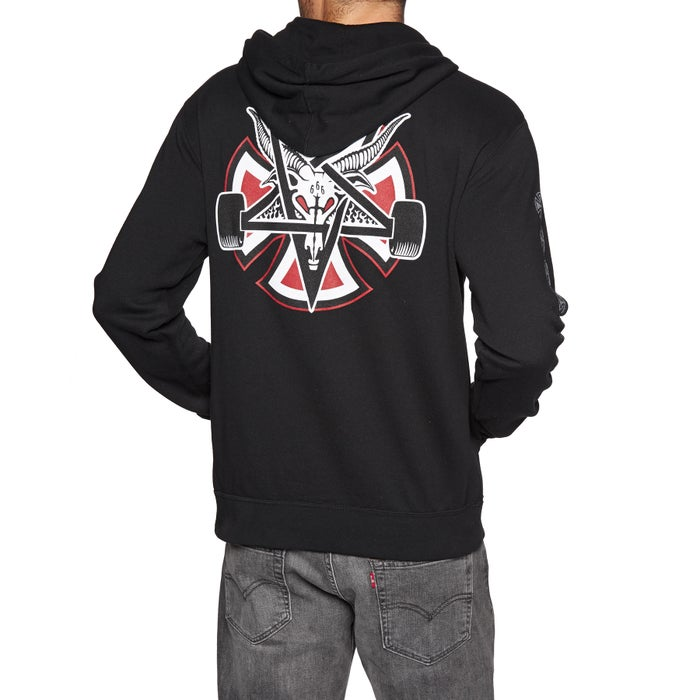 d48fa02c1397 Independent X Thrasher Collab Pentegram Cross Pullover Hoody ...