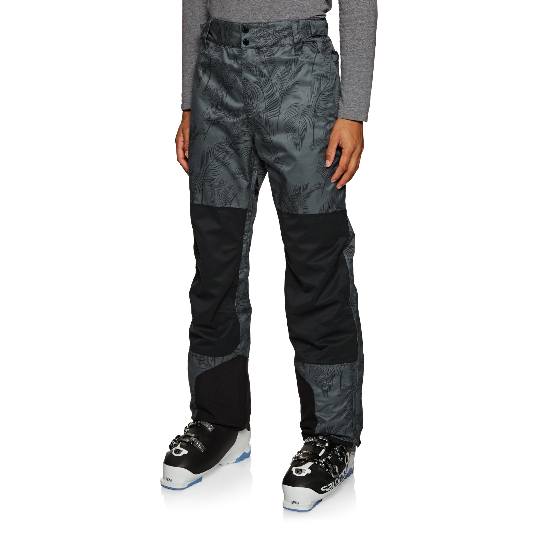 Planks Feel Good Snow Pant - Midnight Palm