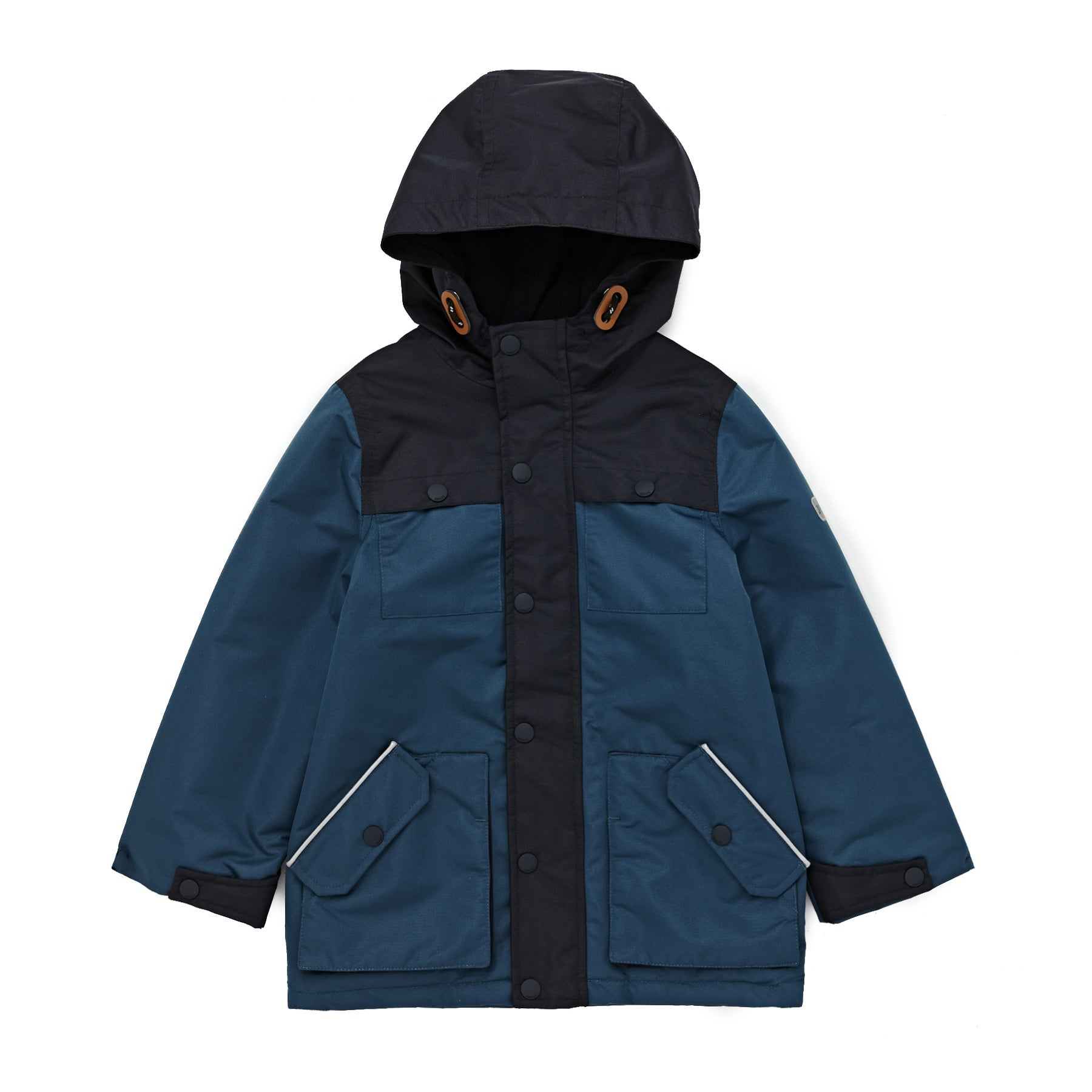 Chaqueta Boys Joules Colourblock Playground - Navy