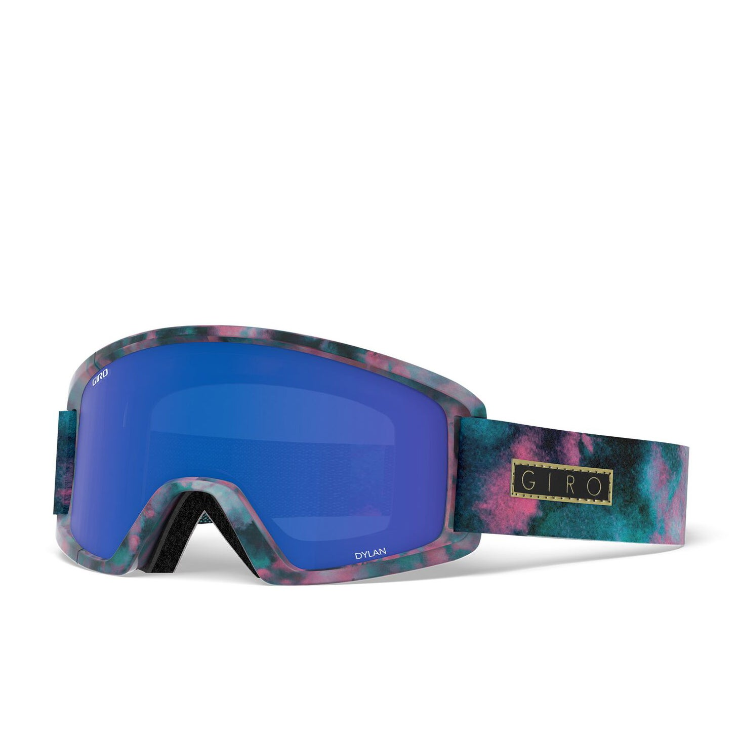 Giro Dylan Womens Snow Goggles - Bleached Out Grey ~ Cobalt/yellow