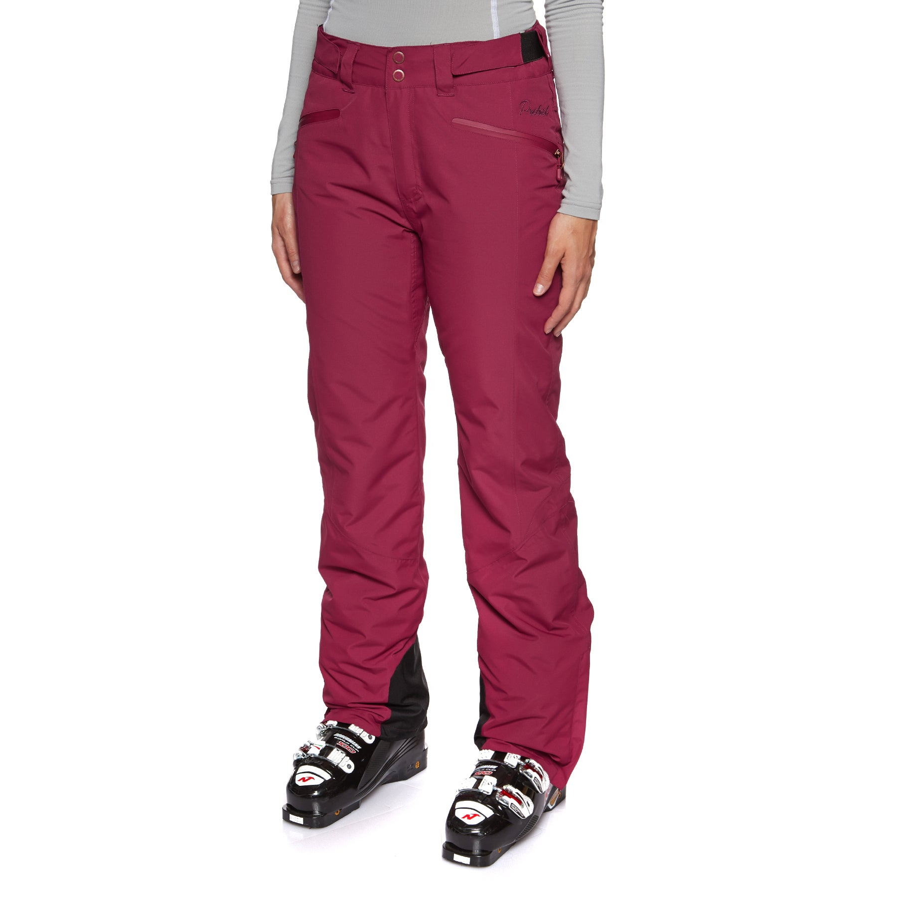 Protest Kensington Womens Snow Pant - Beet Red