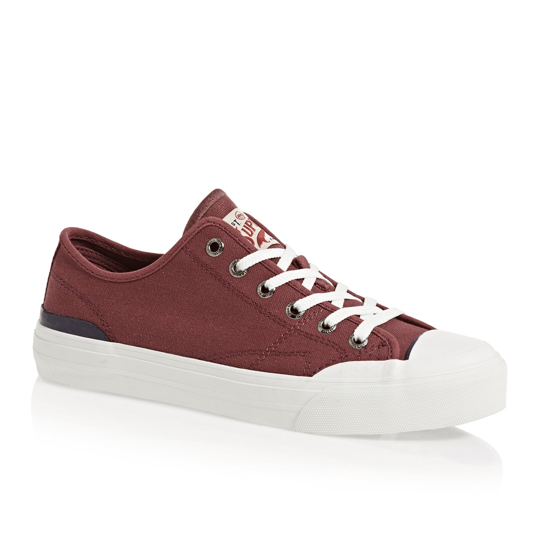 Sapatos Superdry Trophy Classic Low - Oxblood