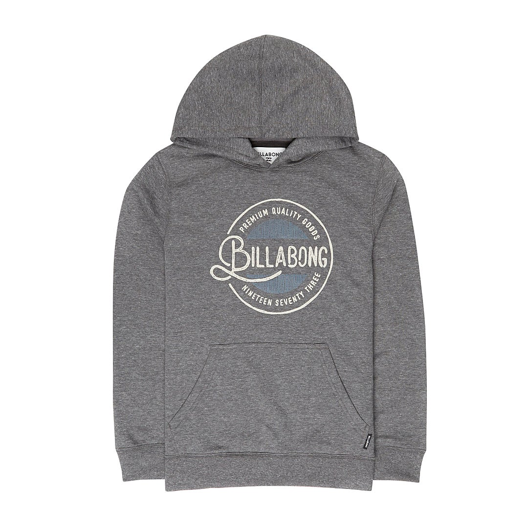 Billabong Plaza Sweater - Dark Grey Heath
