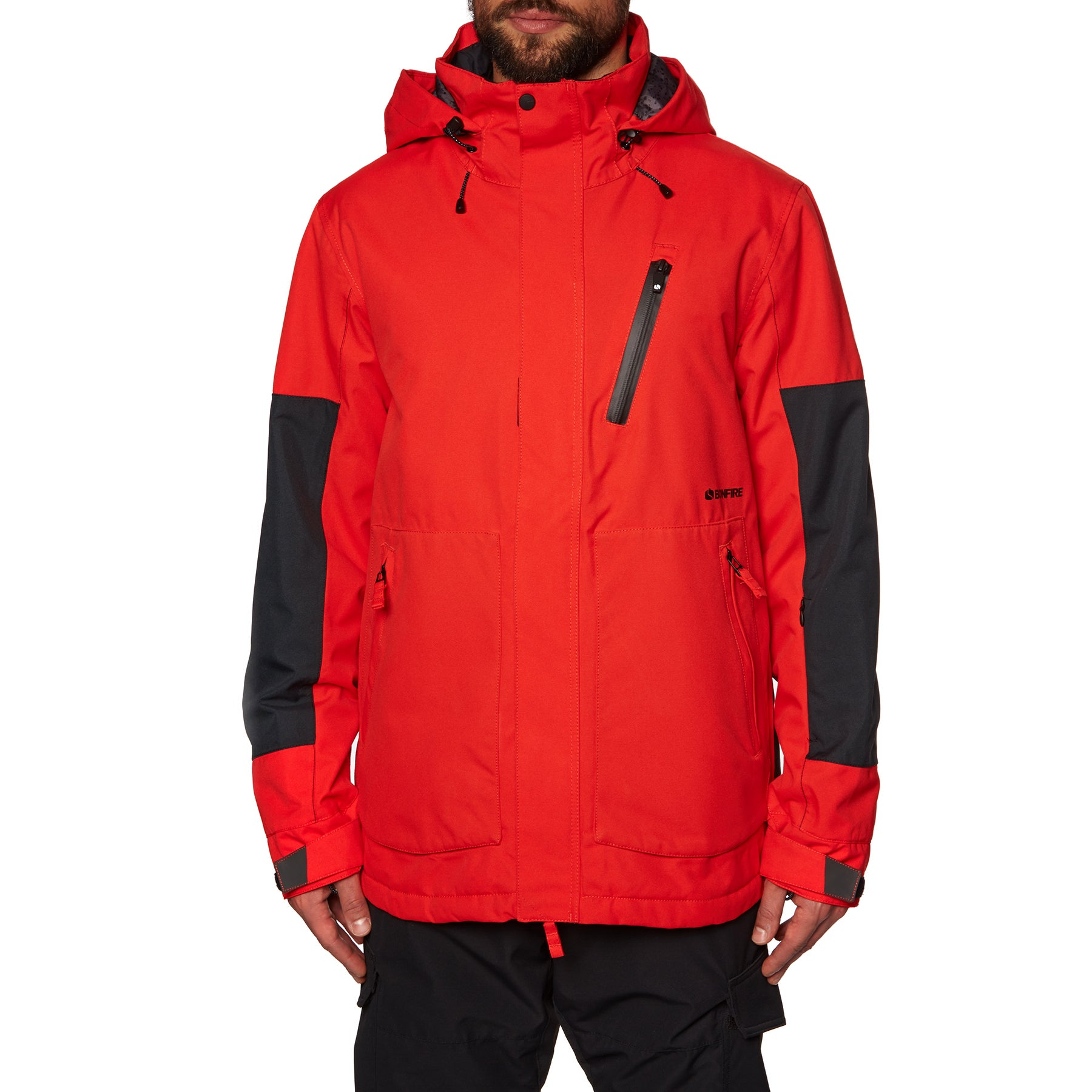 Bonfire Strata Insulated Snow Jacket - Red