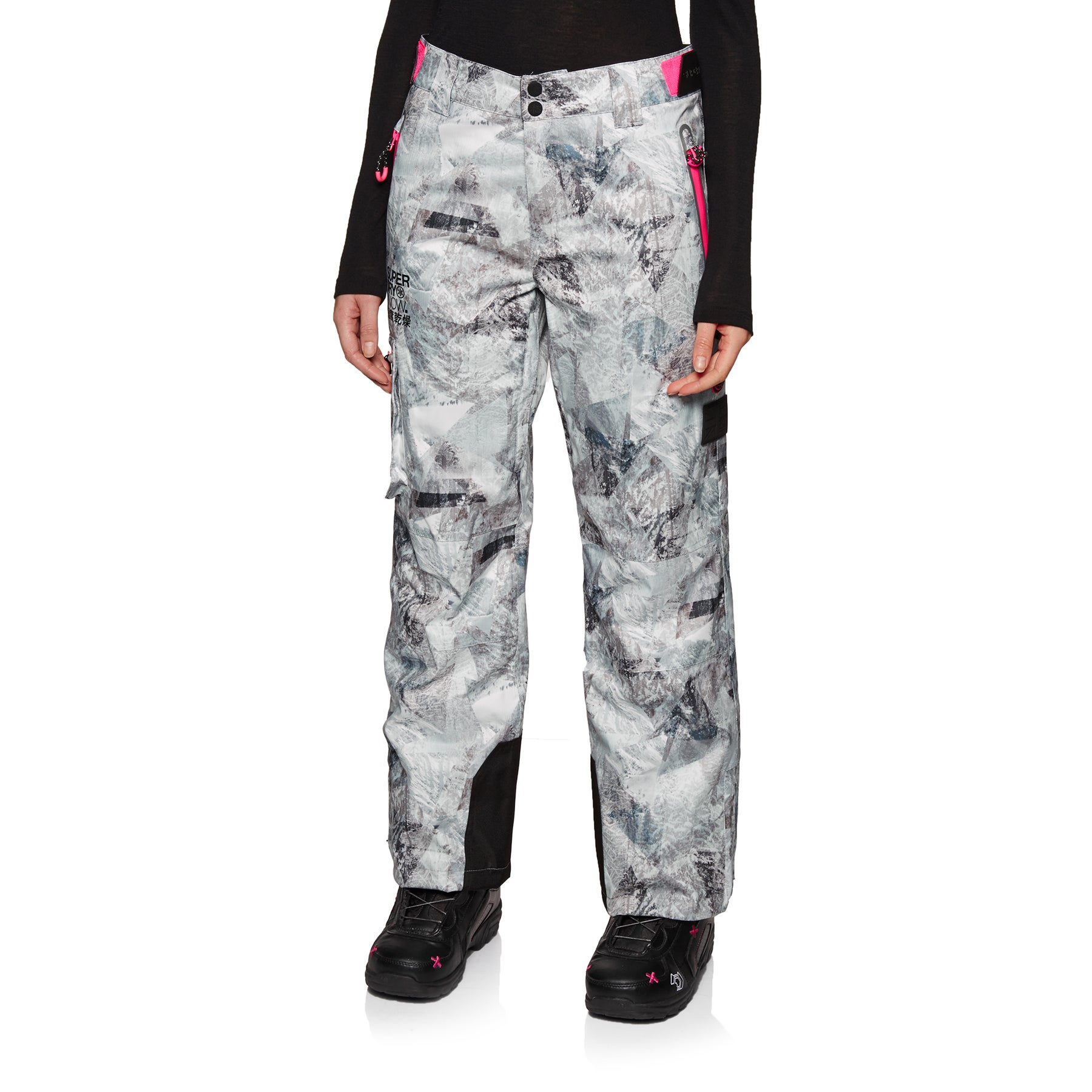 Superdry Classic Womens Snow Pant - Frosted Geo Mountain