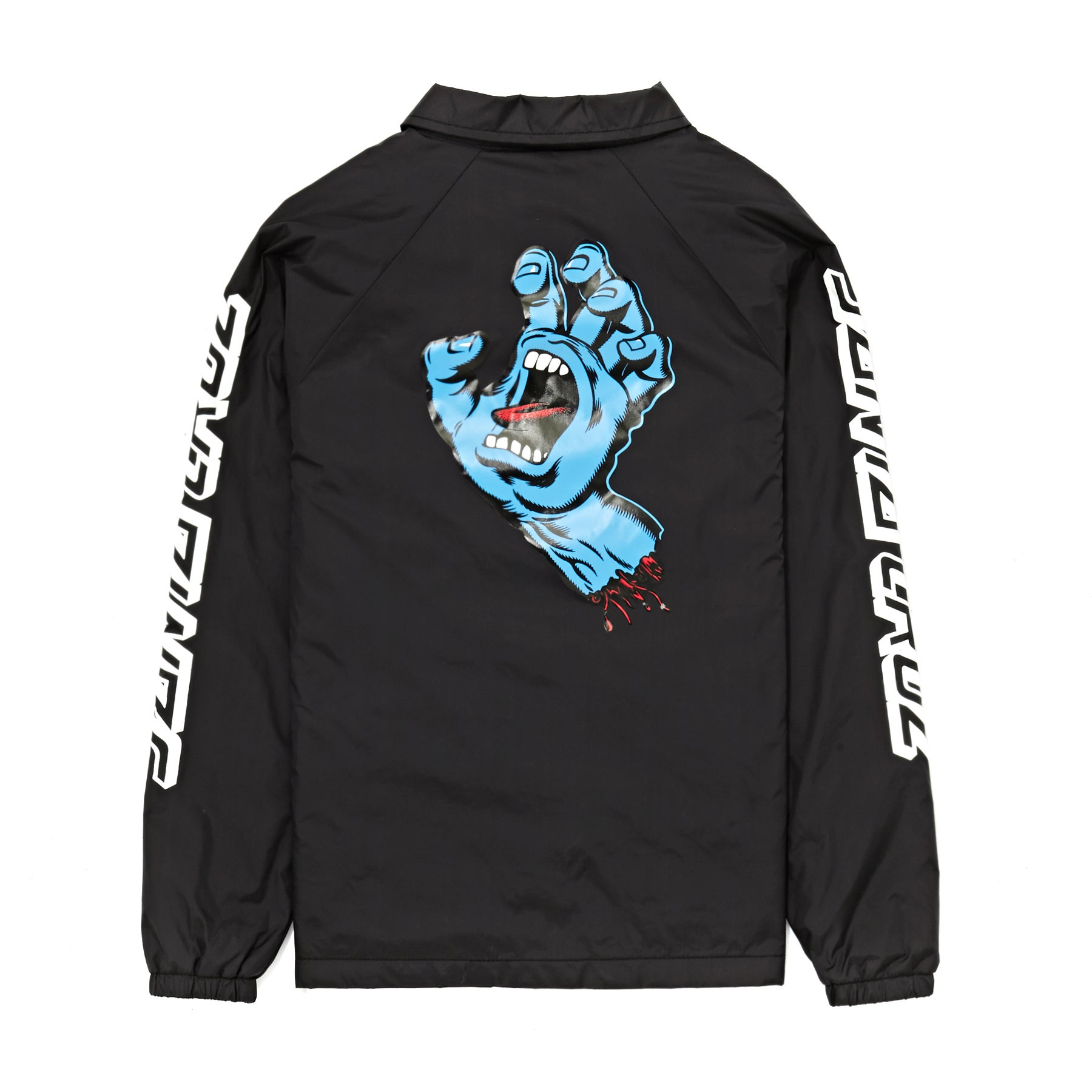 273a975385d Santa Cruz Screaming Hand Coach Kids Jacket available from Surfdome