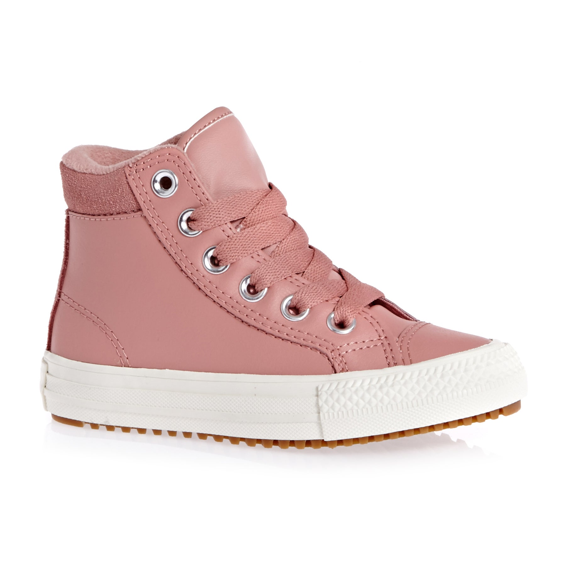 Converse Chuck Taylor All Star Pc Boot Hi Kids Shoes - Rust Pink Burnt Caramel