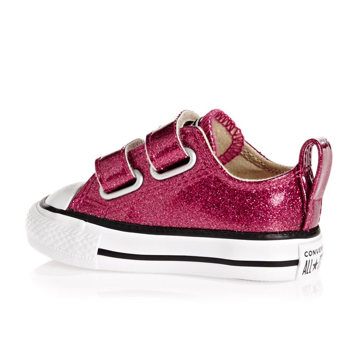 Converse Chuck Taylor All Star 2v Ox Glitter Baby Shoes