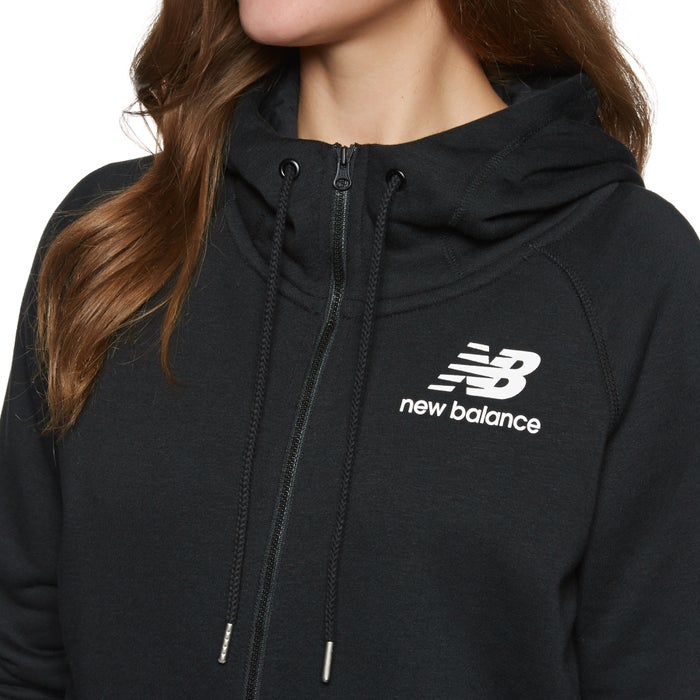 b9d5d12b31f05 New Balance Essentials Brush Womens Zip Hoody available from Surfdome