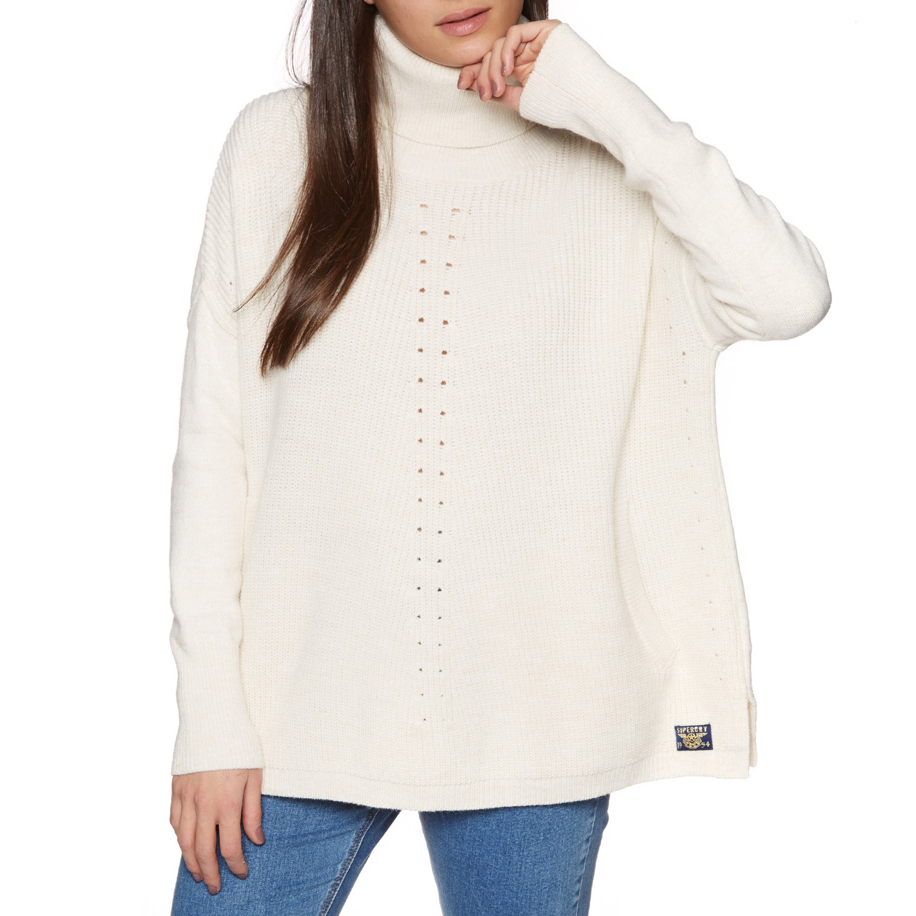 Knits Senhora Superdry Maya Ribbed - Cream