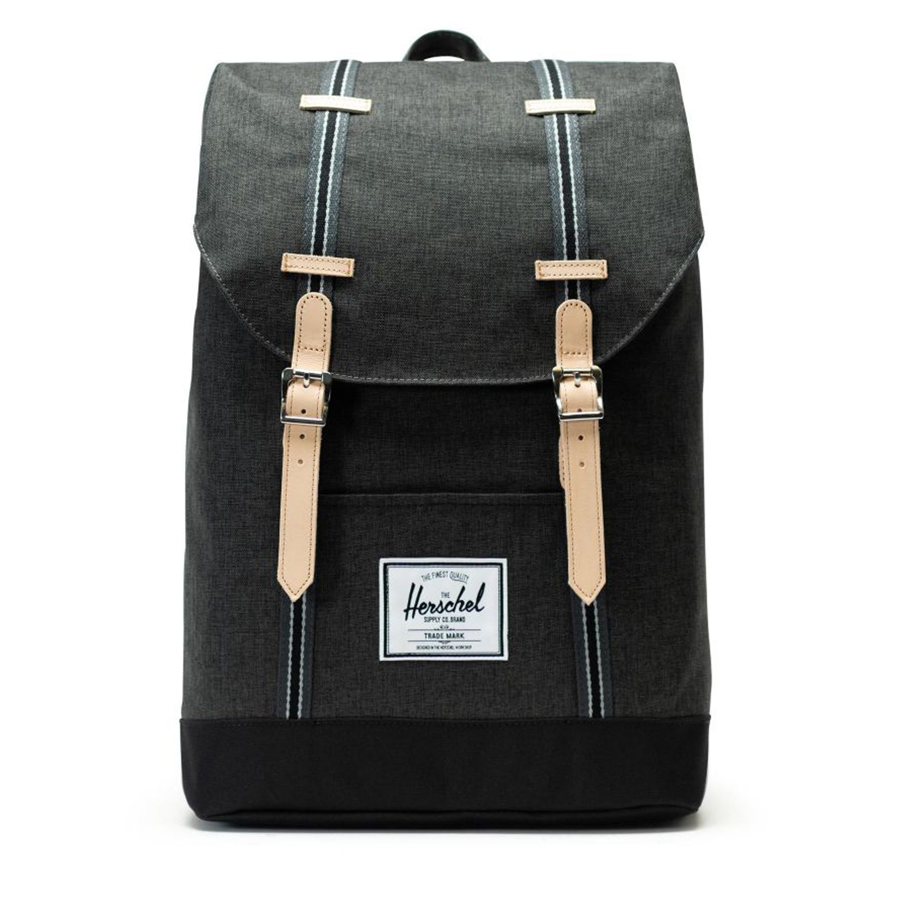 Herschel Retreat Backpack - Black Crosshatch black