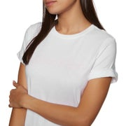 Calvin Klein Cotton Coord Top S/s Crew Neck Womens Short Sleeve T-Shirt