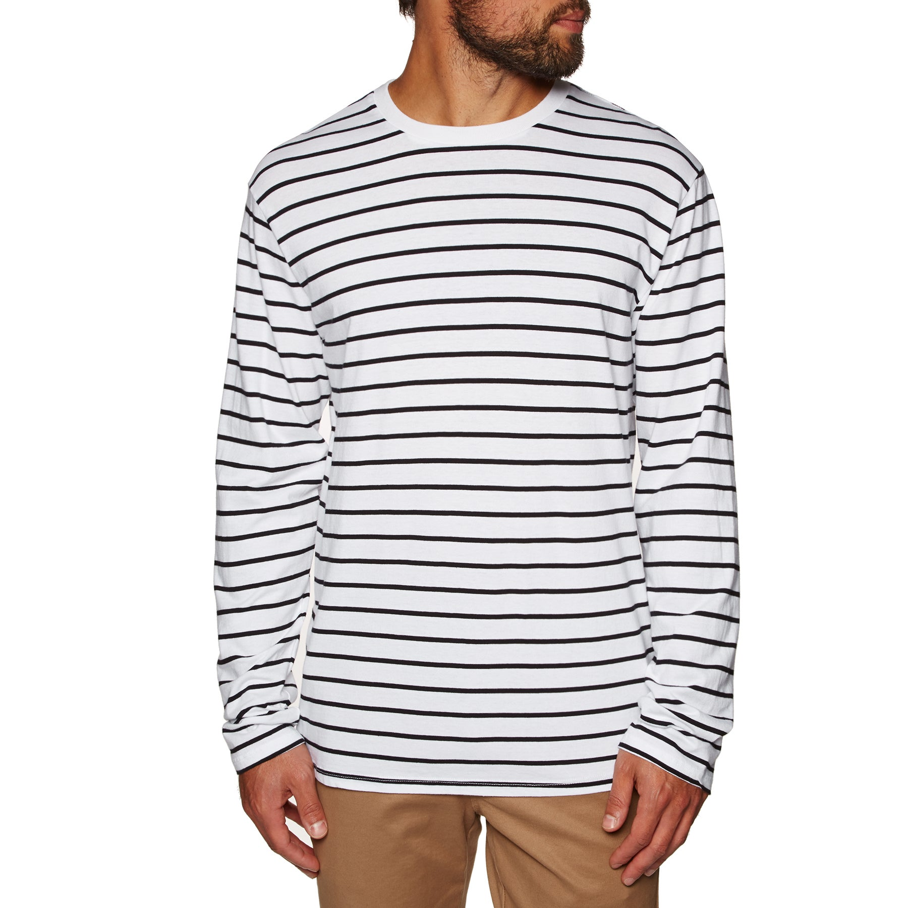 SWELL Avenue Long Sleeve T-Shirt - White