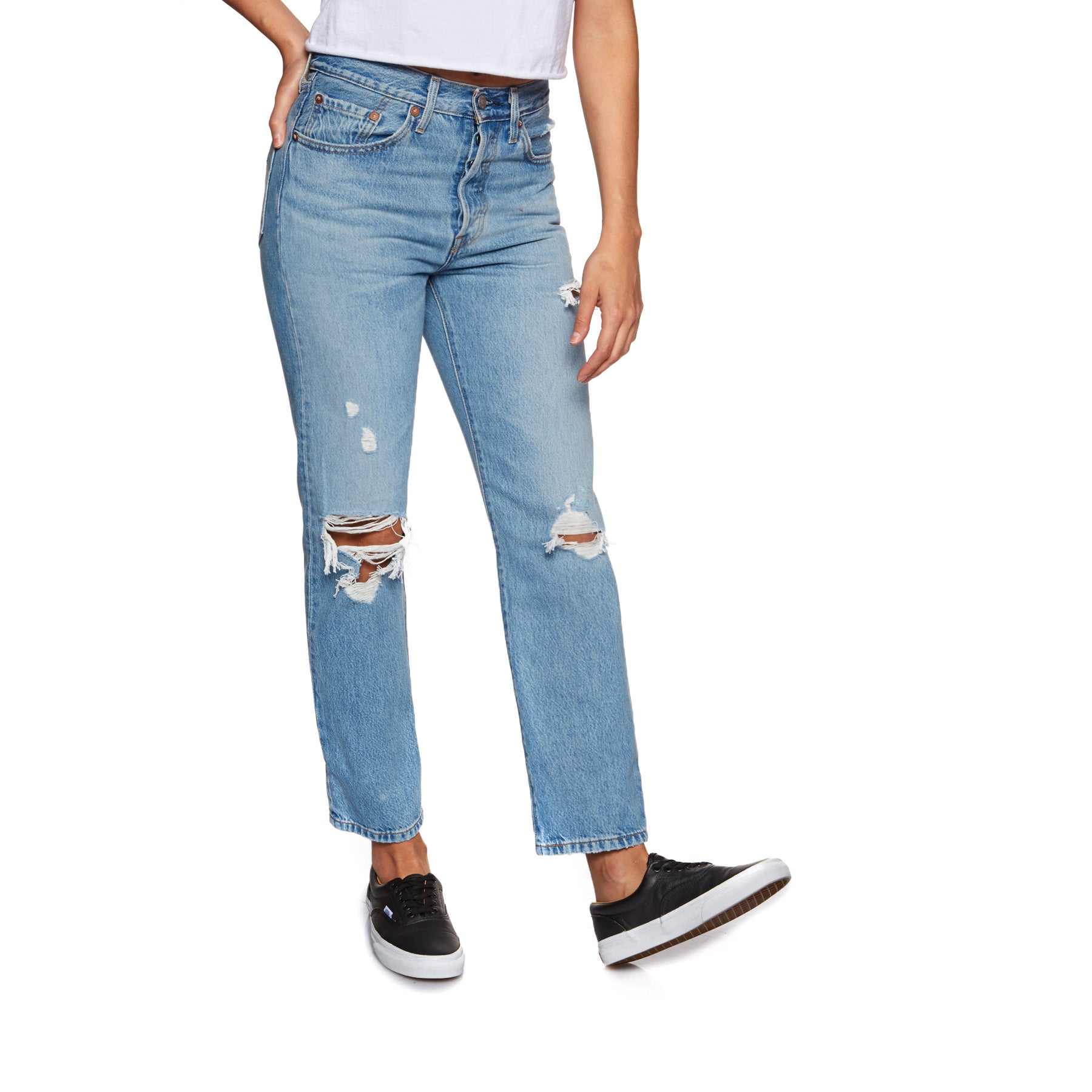 Jeans Femme Levis 501 Crop - Authentically Yours